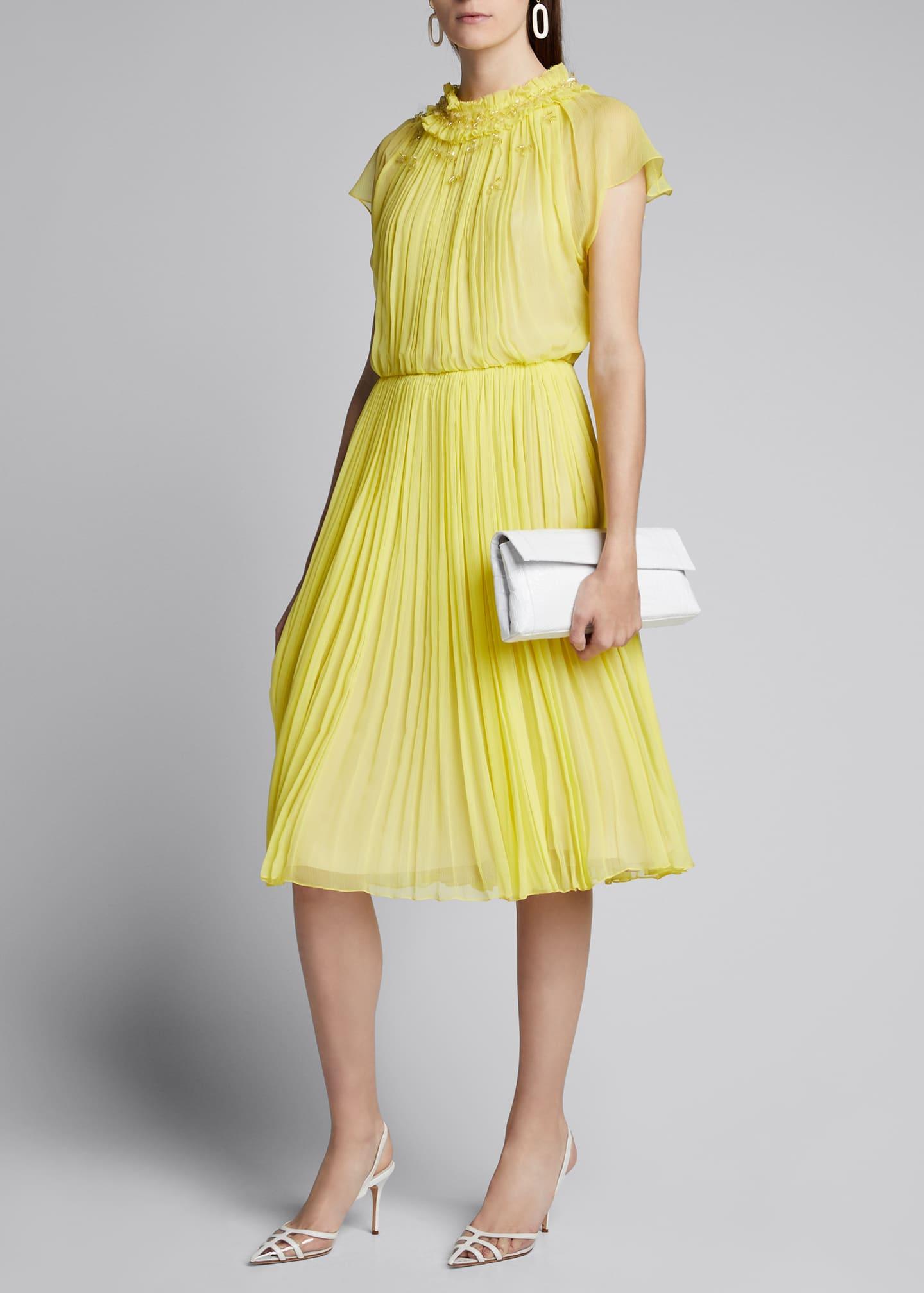 Jason Wu Collection Crinkled Chiffon Day Dress