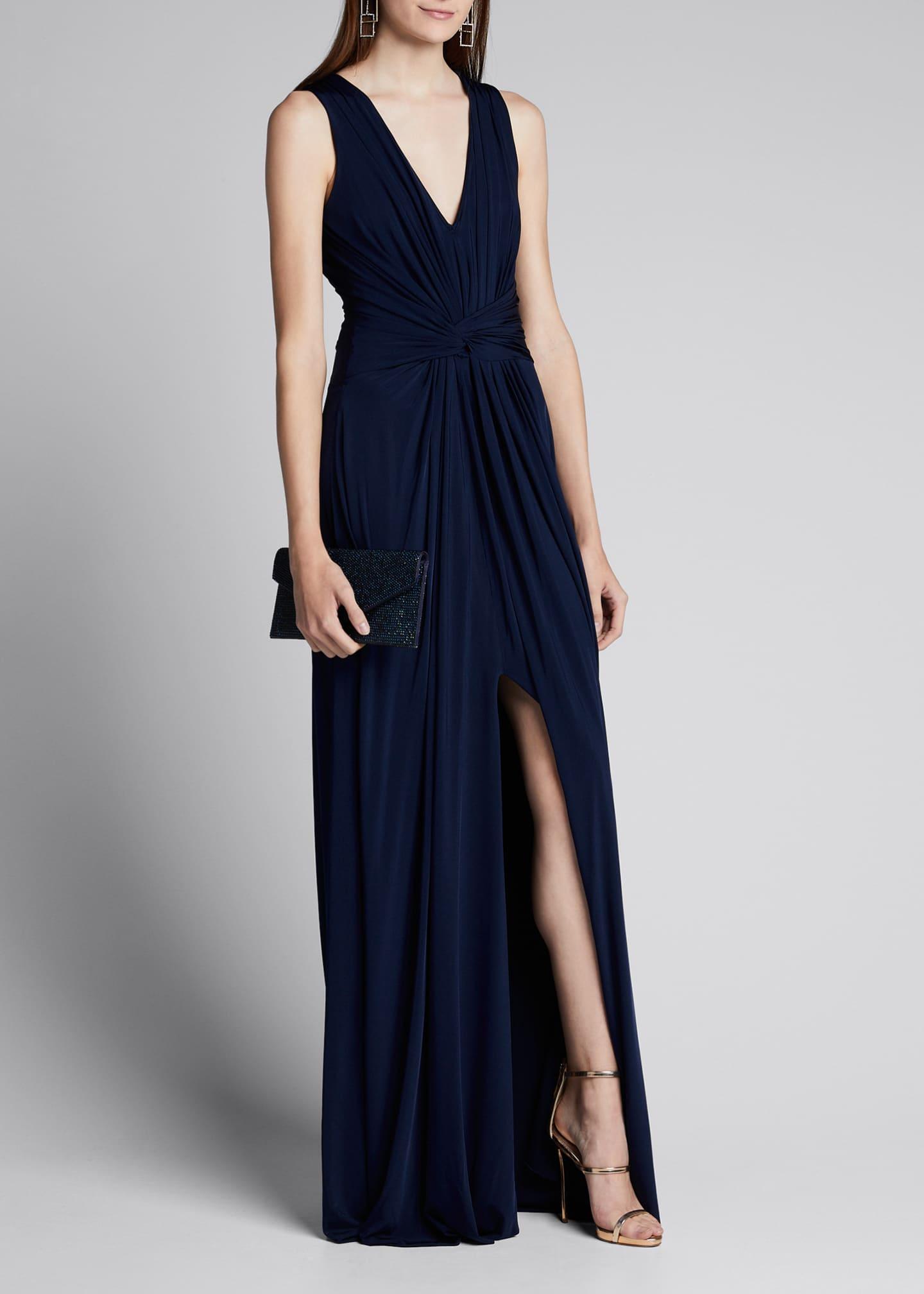 Jason Wu Collection Fluid Evening Jersey Dress w/