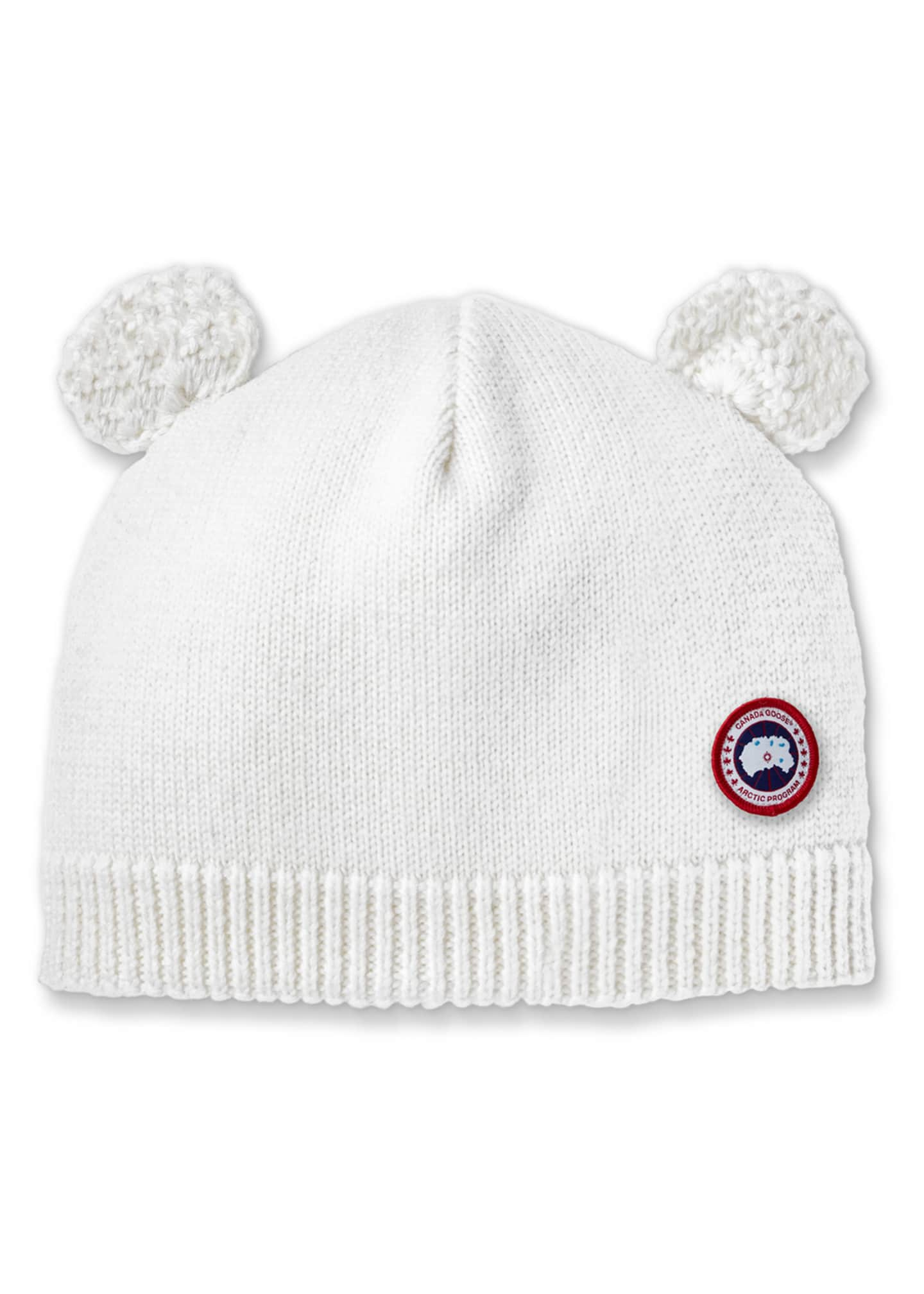 Canada Goose Baby's Knit Hat w/ Crochet Animal