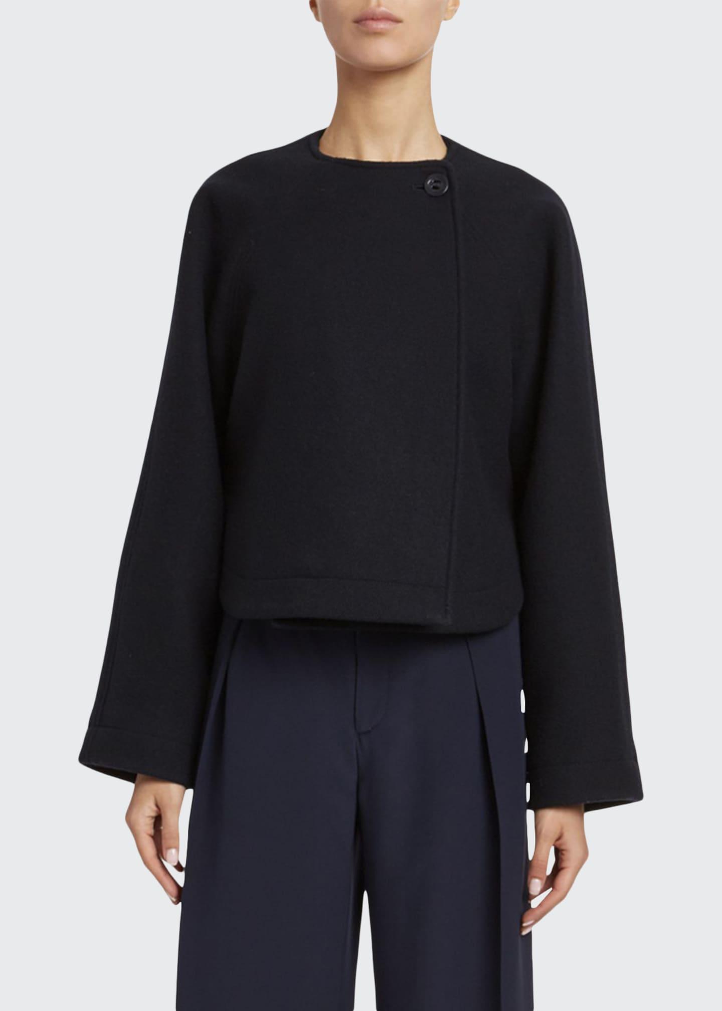 Chloe Iconic Soft Wool Short Coat