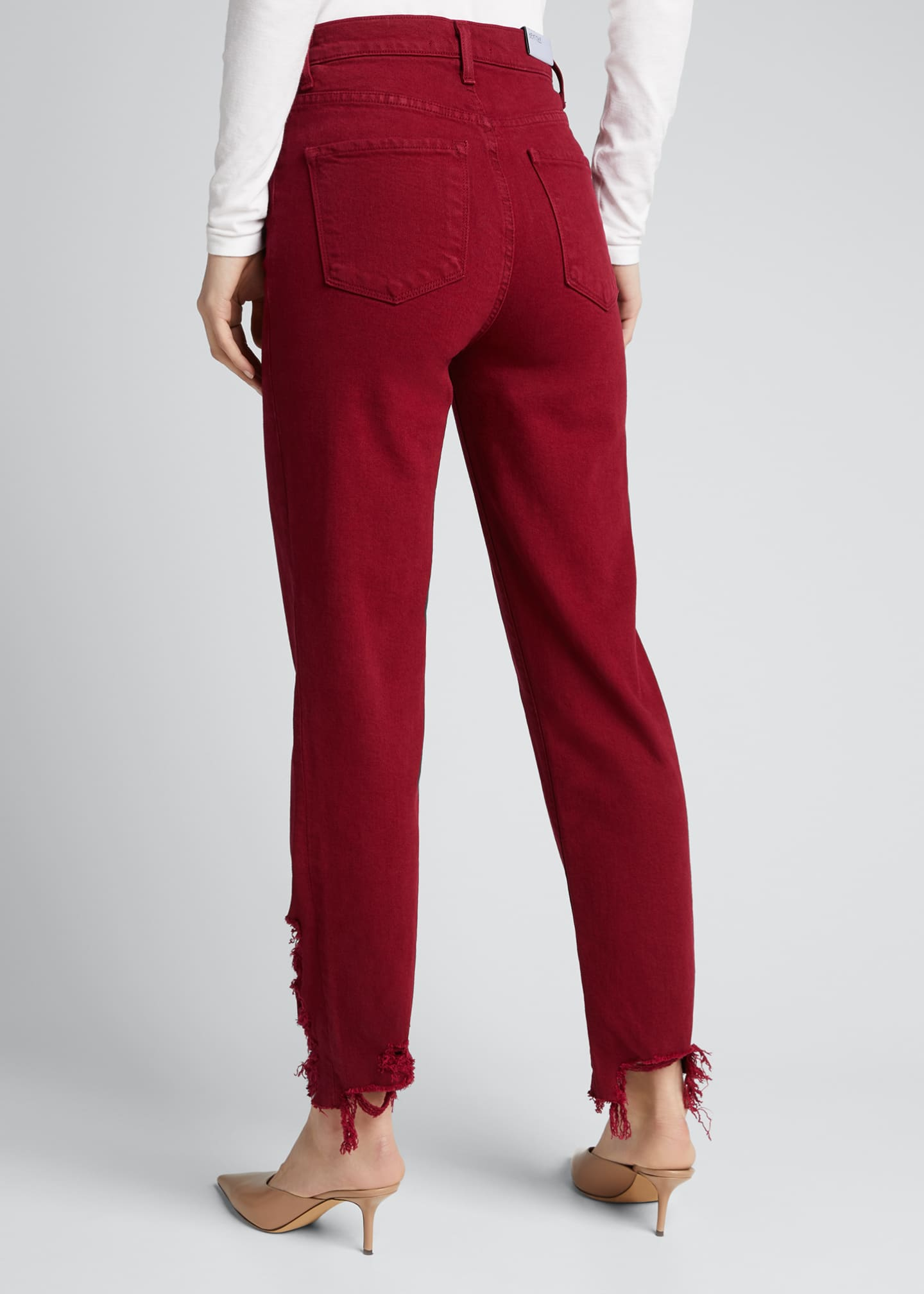 Image 2 of 5: Jules High-Rise Straight Jeans