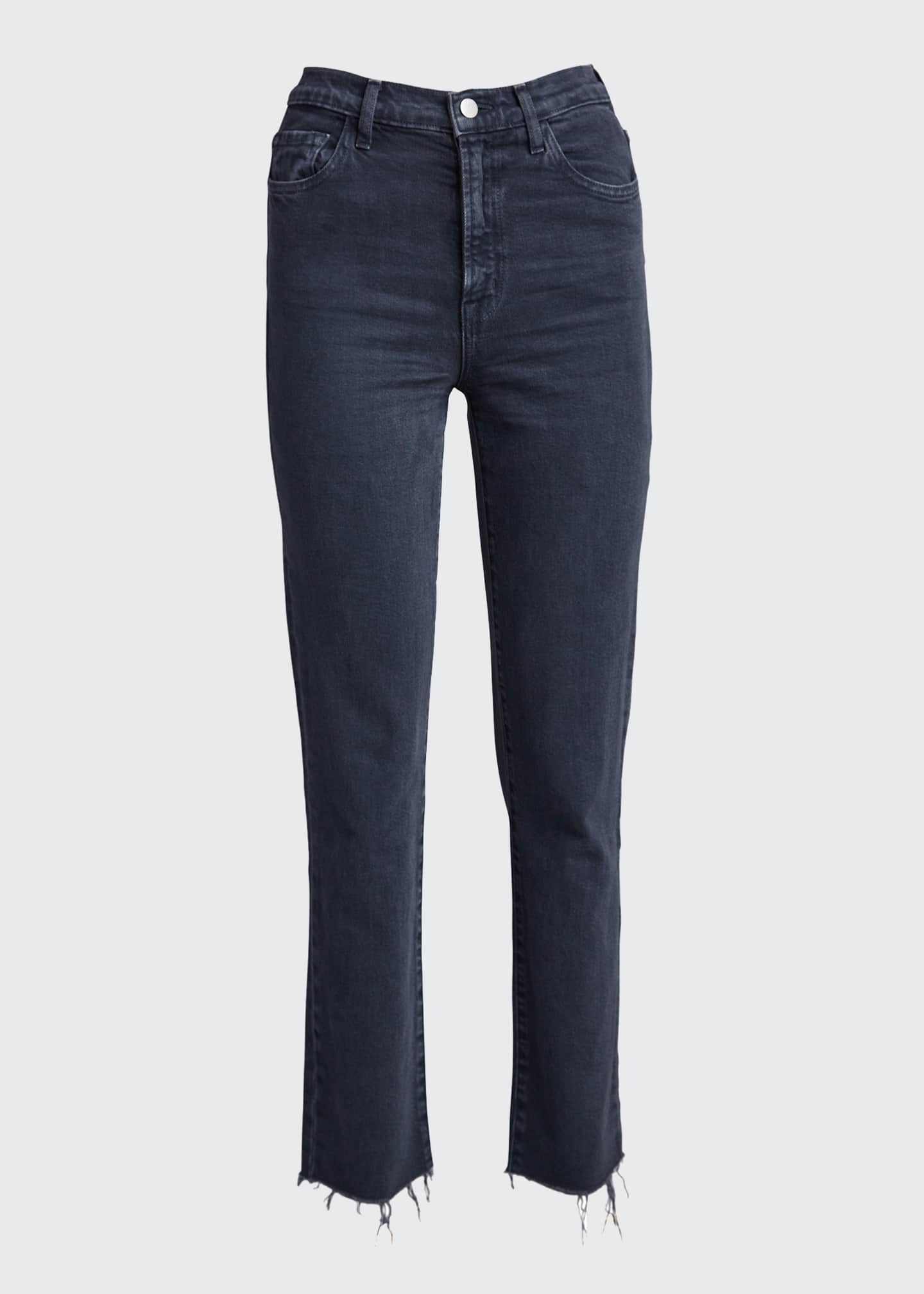 Image 5 of 5: Jules High-Rise Straight Jeans