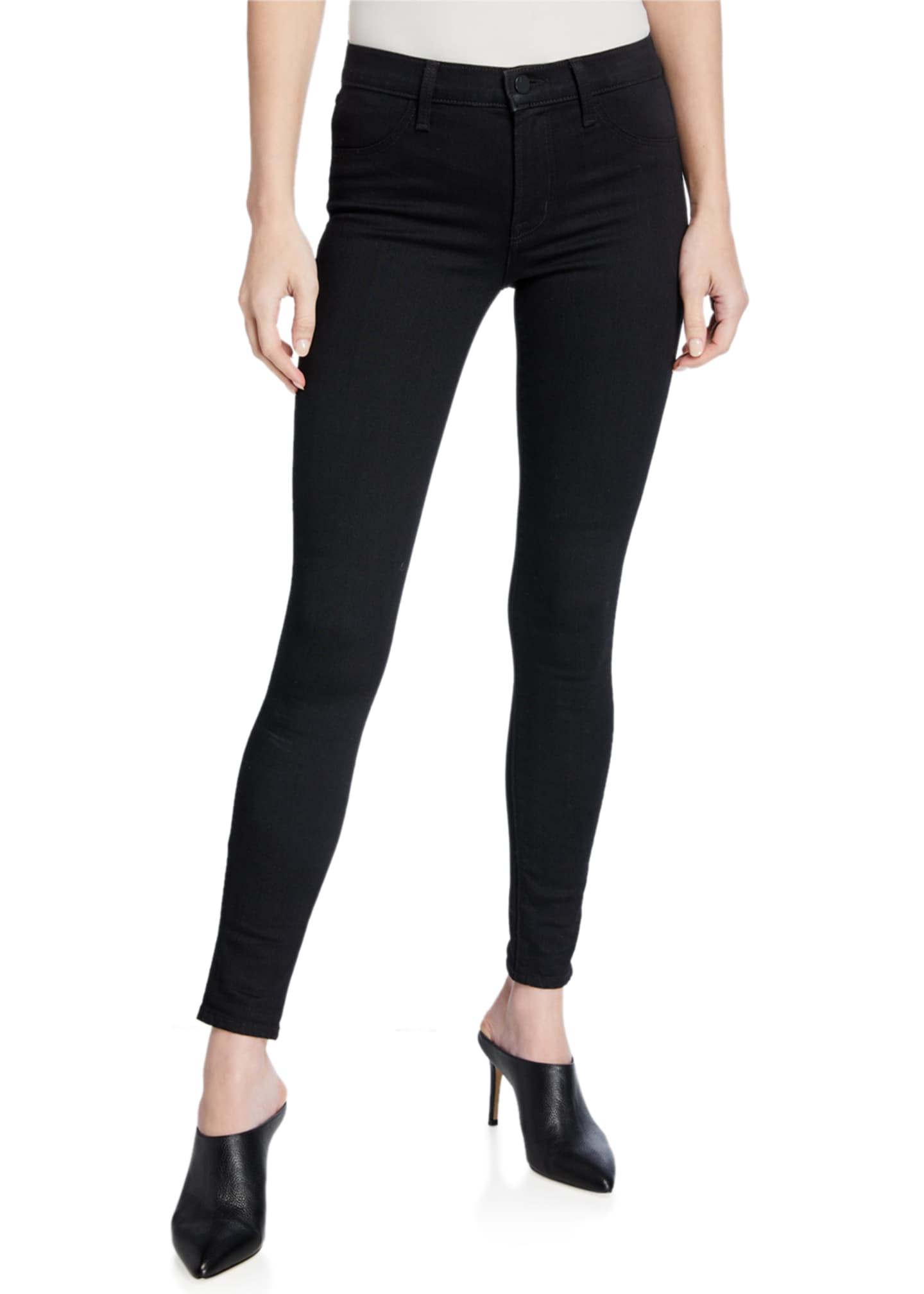 J Brand 925 Mid-Rise Super Skinny Jeggings