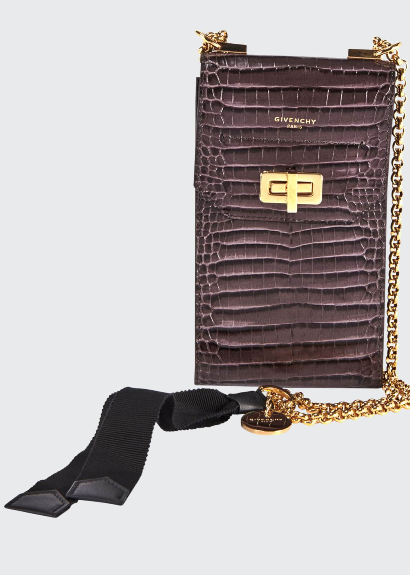 Givenchy Catena Crossbody Phone Pouch Bag with Chain