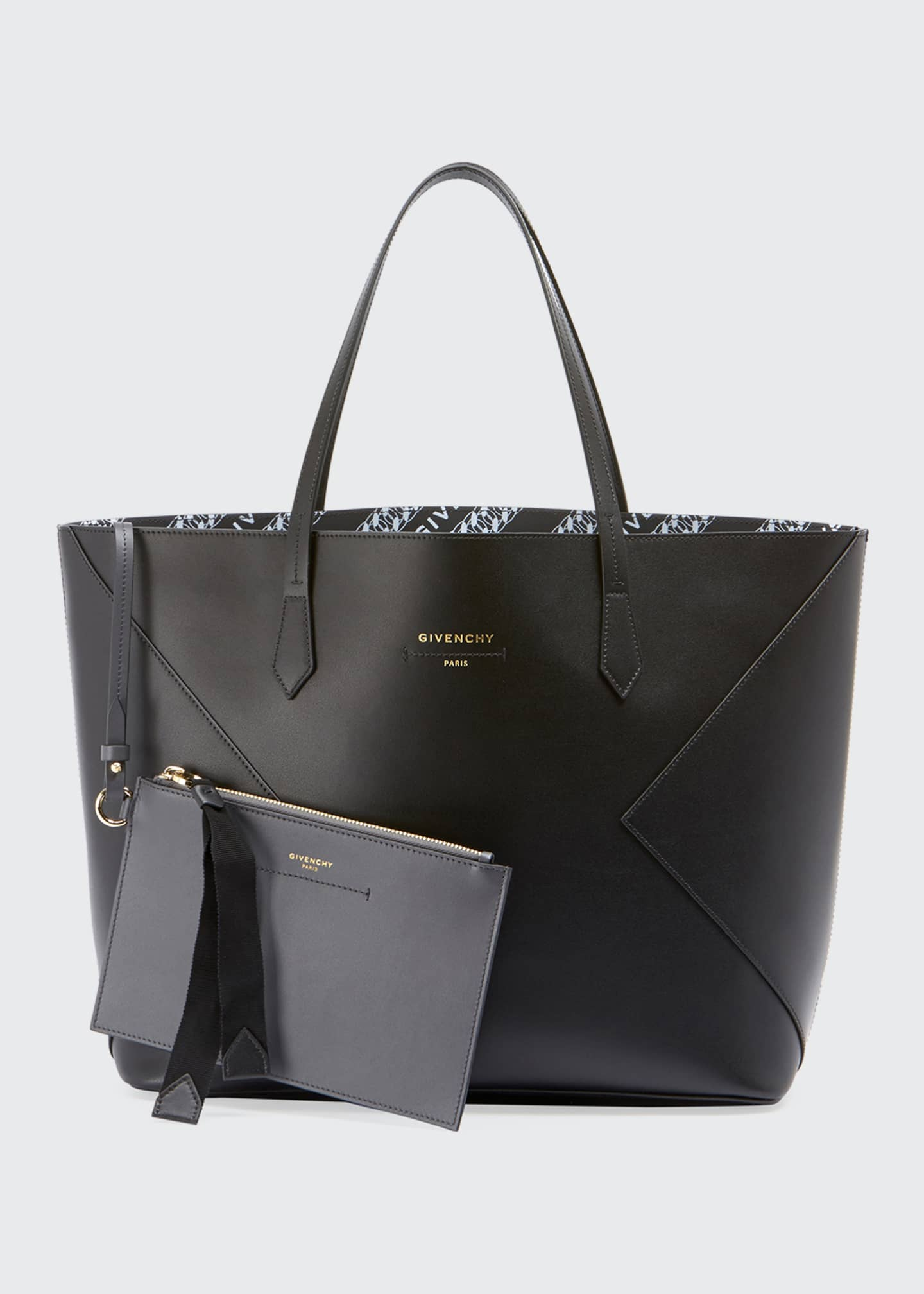 Givenchy Wing Smooth Shopping Tote Bag