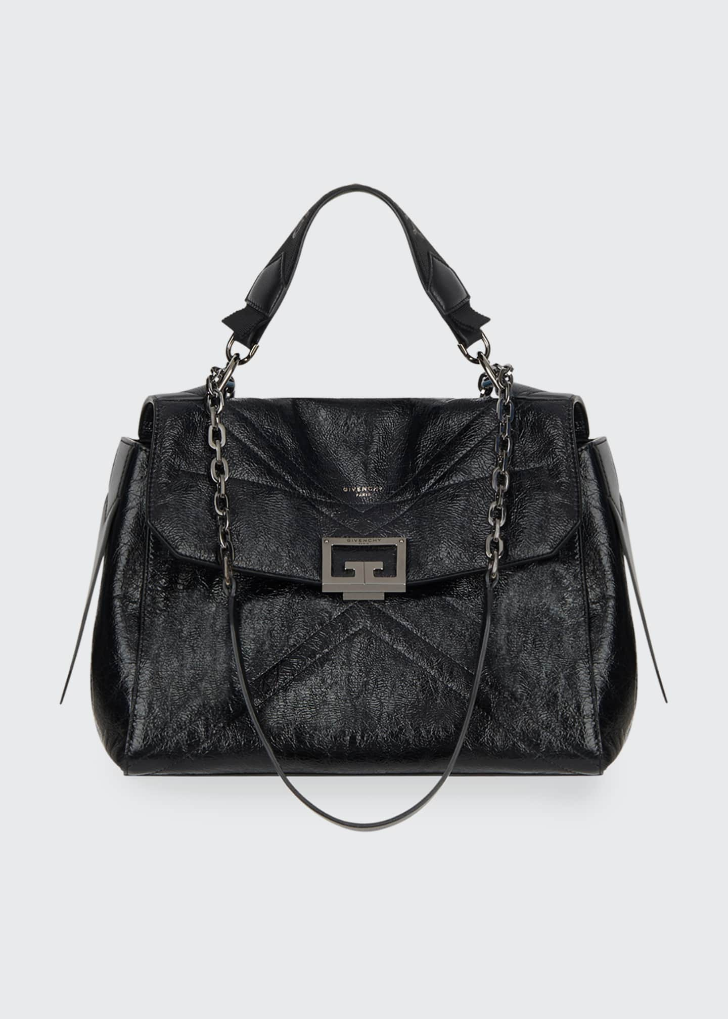 ID Medium Shiny Shoulder Bag