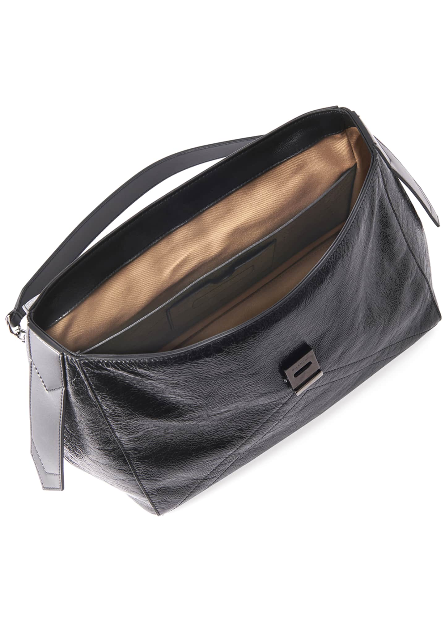 Image 2 of 3: ID Medium Creased Shoulder Bag