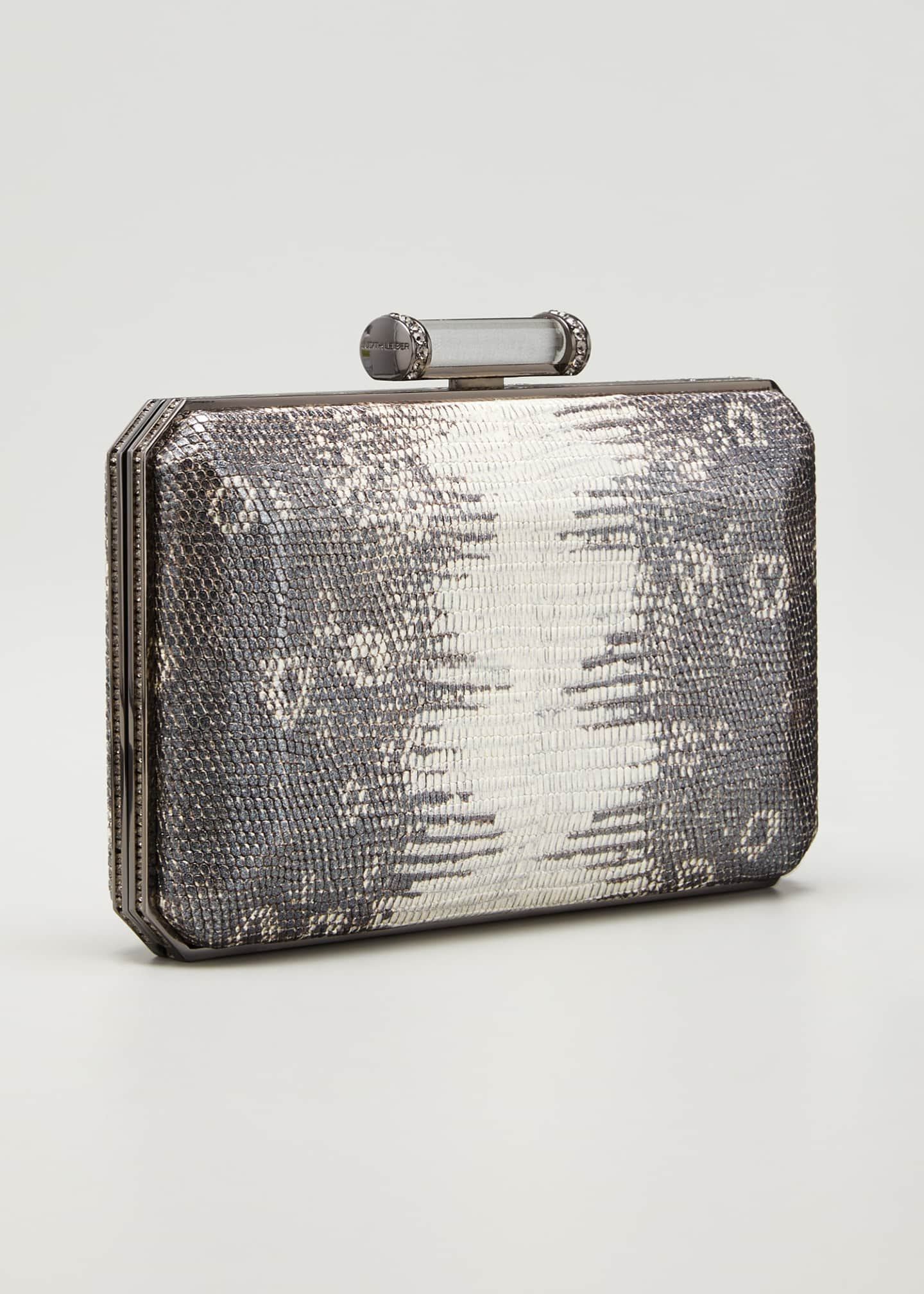 Image 3 of 5: Soho Mia Leather Clutch Bag