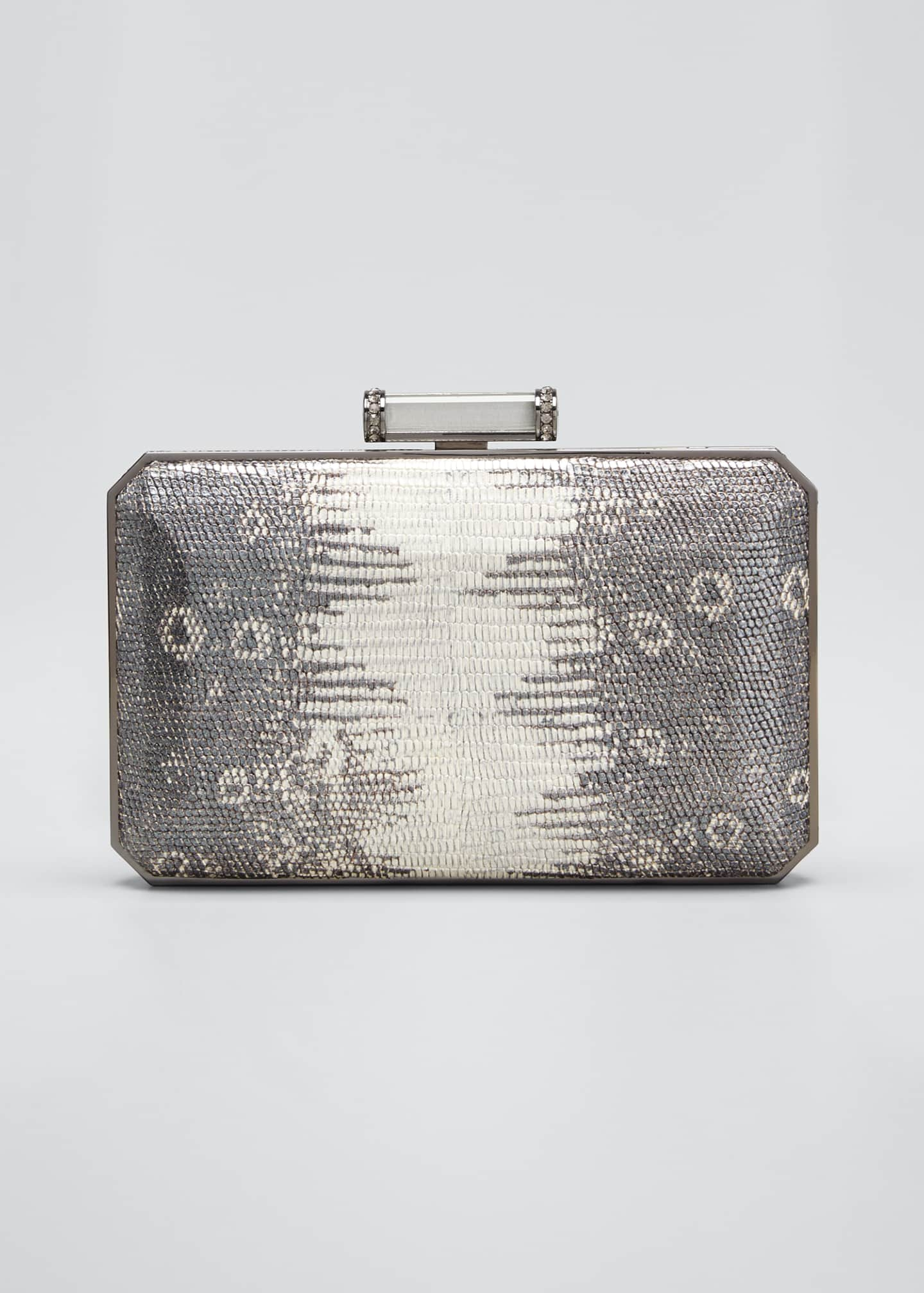 Image 1 of 5: Soho Mia Leather Clutch Bag