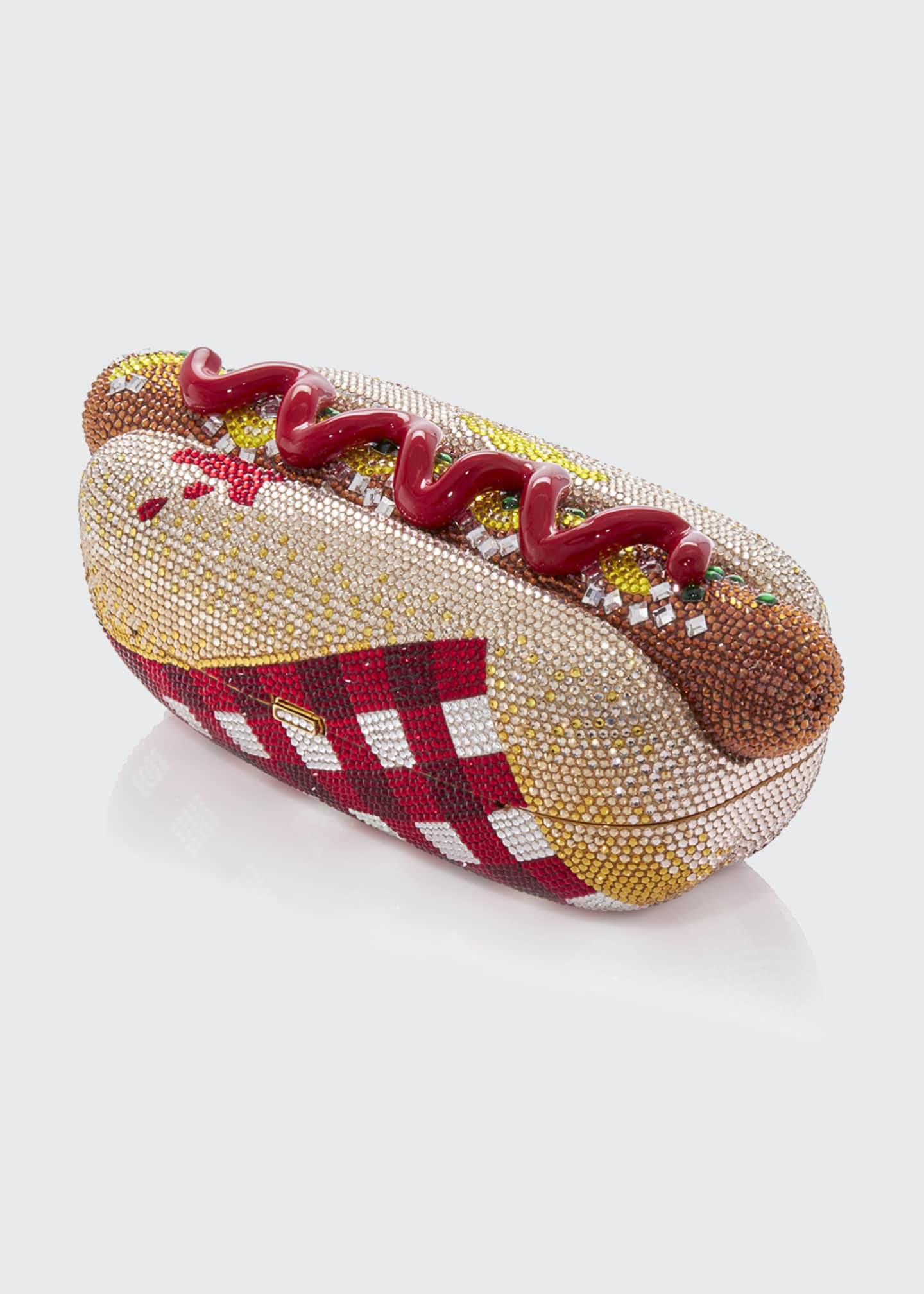 Image 4 of 4: Hot Dog Minaudiere Clutch Bag