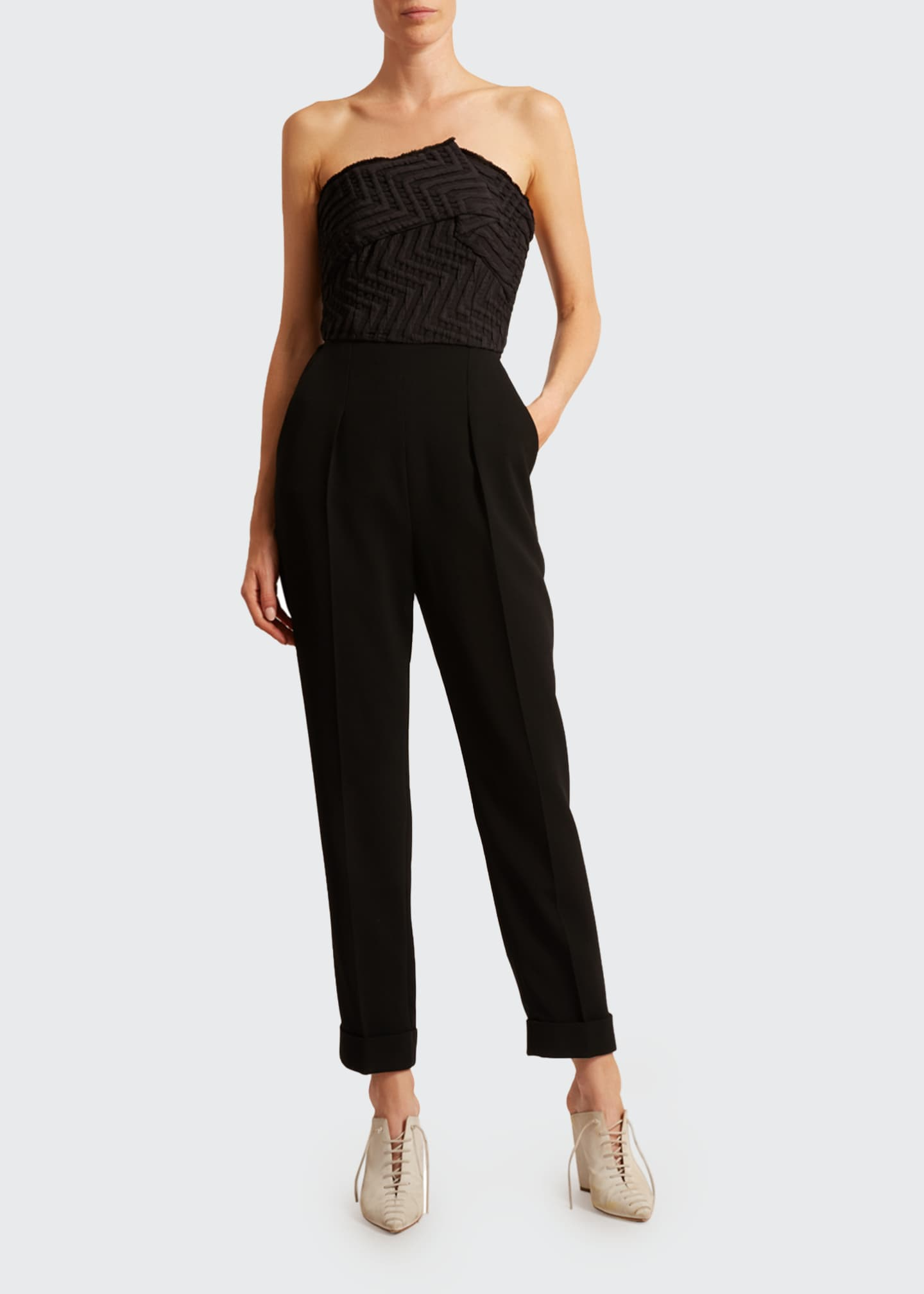 Image 1 of 2: Haye Puckered Jumpsuit