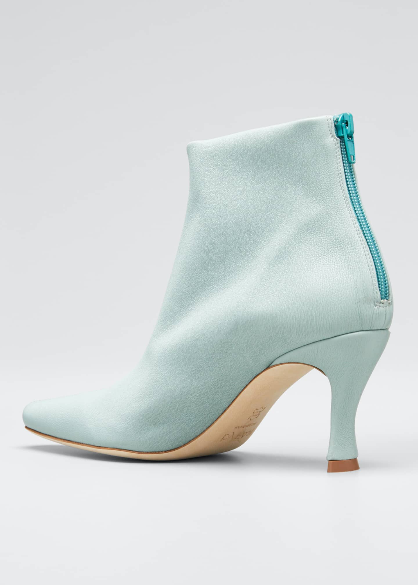 Image 2 of 3: Stevie Mint Stretch Booties