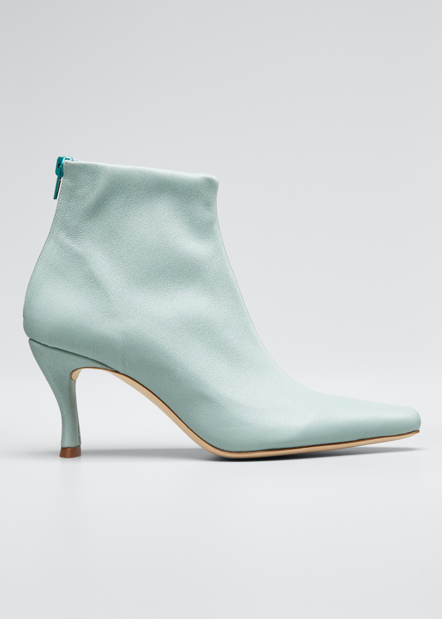 Image 1 of 3: Stevie Mint Stretch Booties