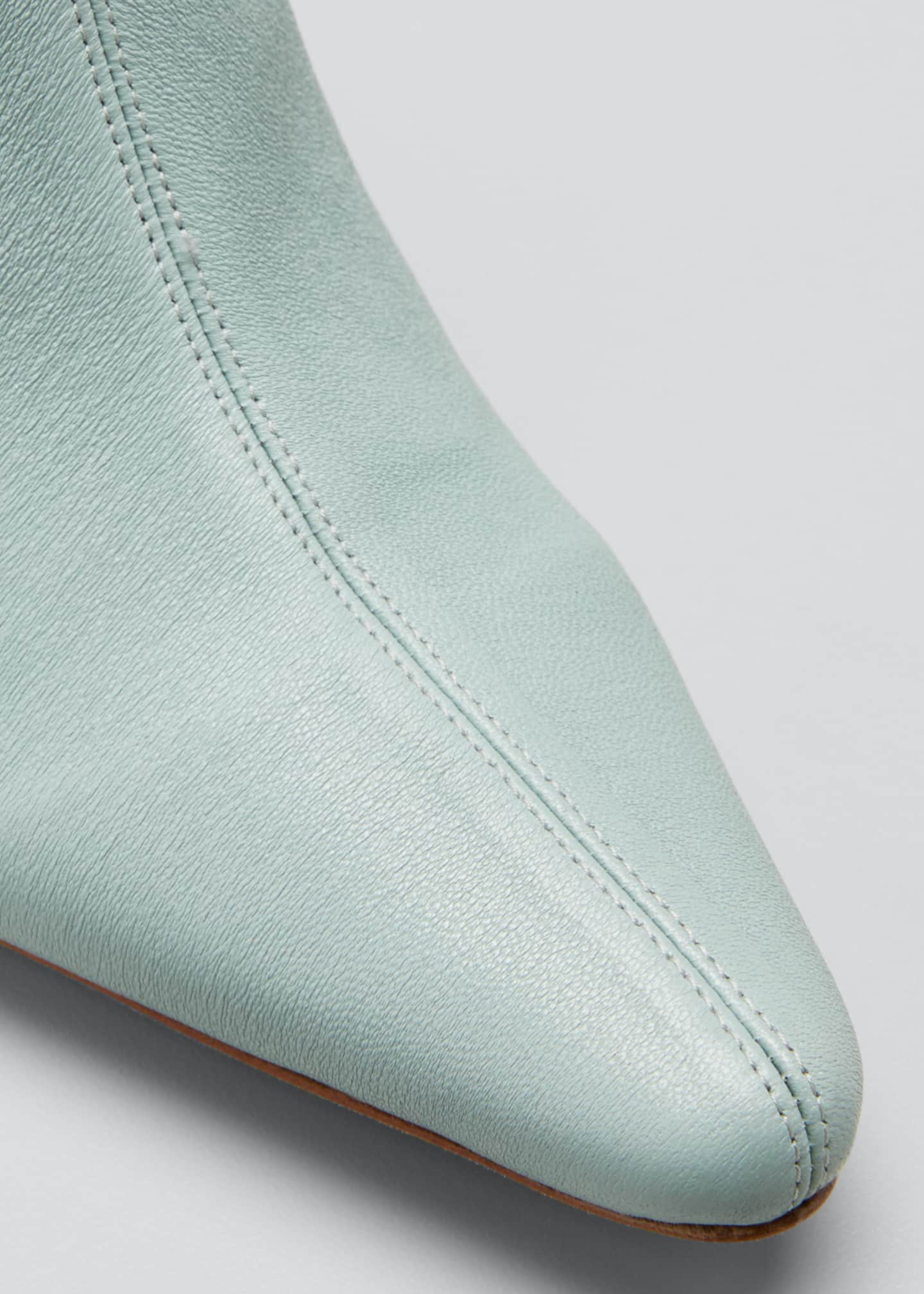 Image 3 of 3: Stevie Mint Stretch Booties