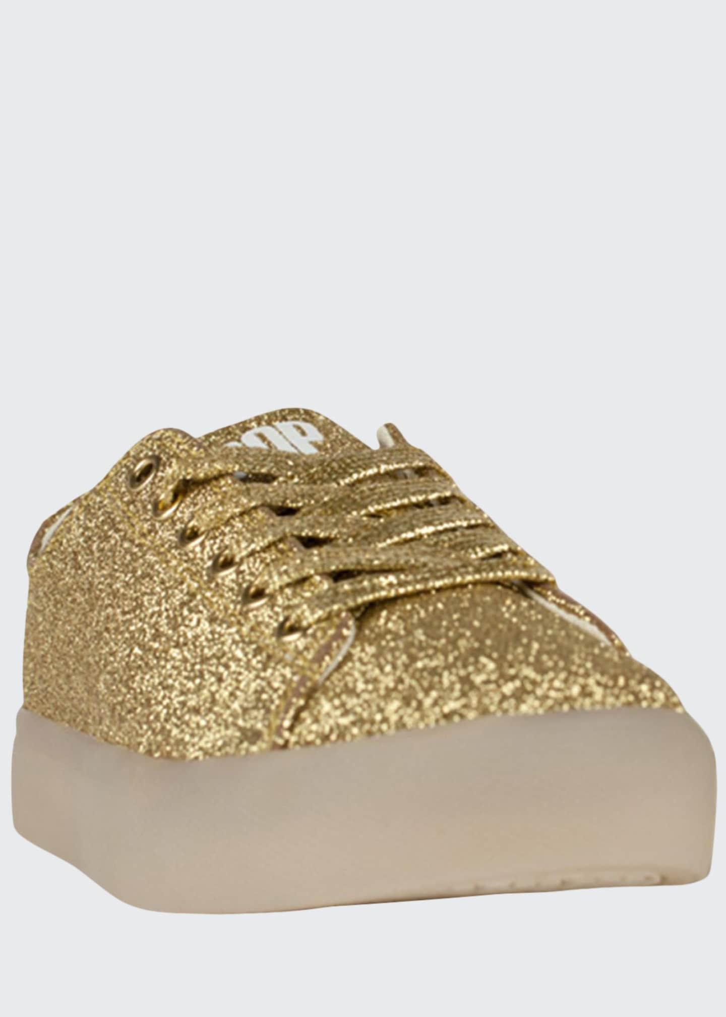 Pop Shoes EZ Glitter Light-Up Sneakers, Toddler/Kids