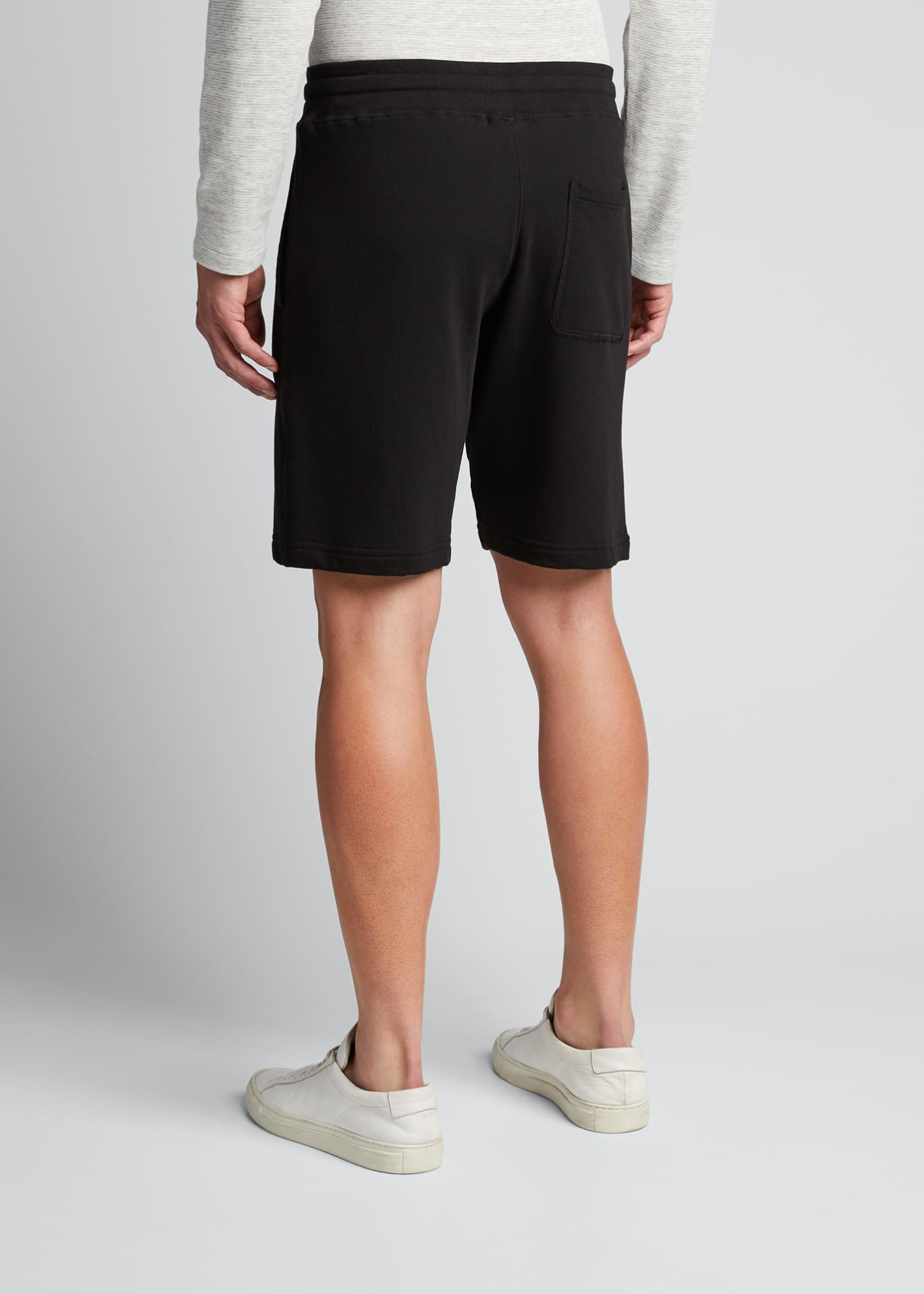 Image 2 of 5: Men's Garment-Dyed Drawstring Shorts