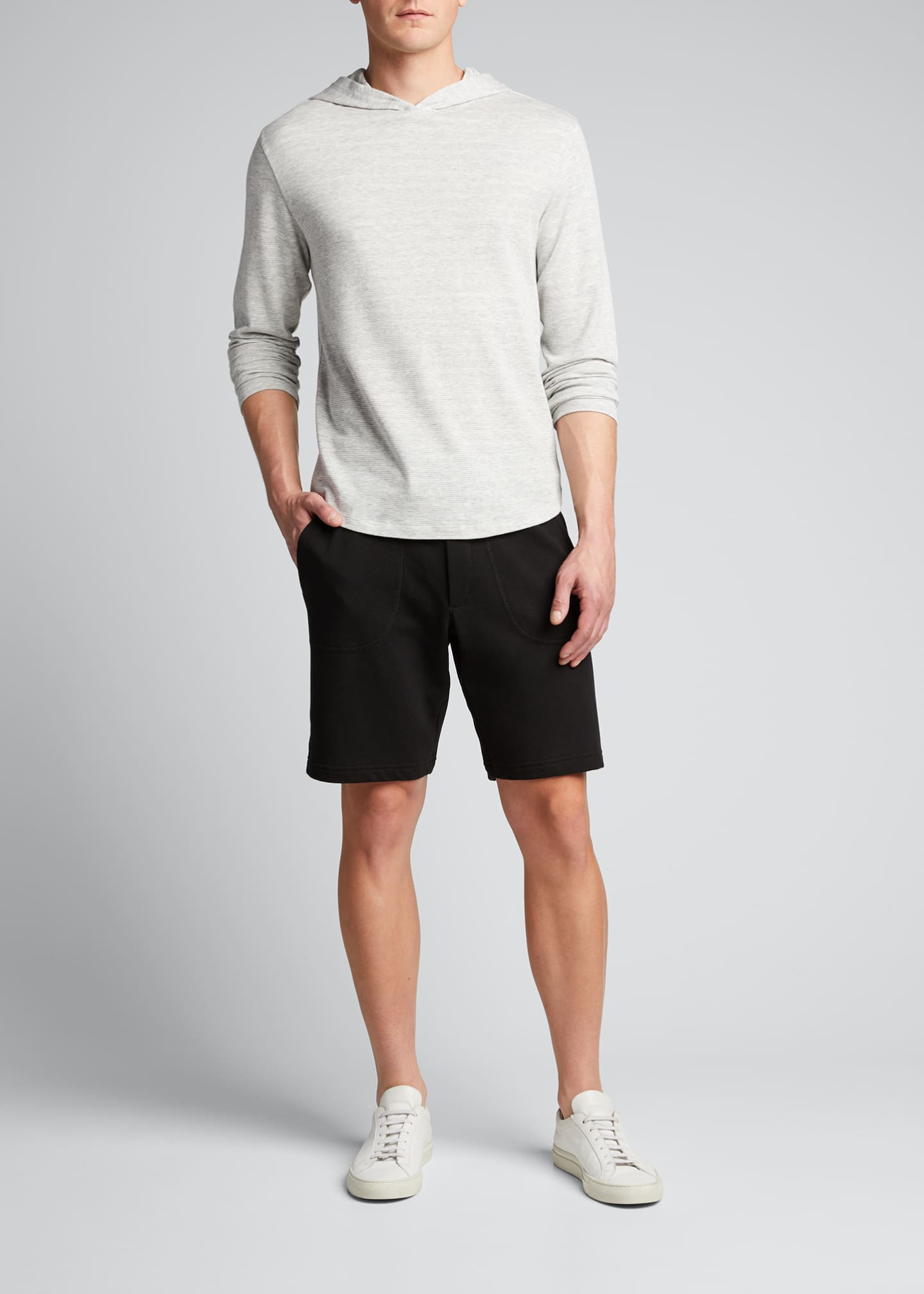 Image 1 of 5: Men's Garment-Dyed Drawstring Shorts
