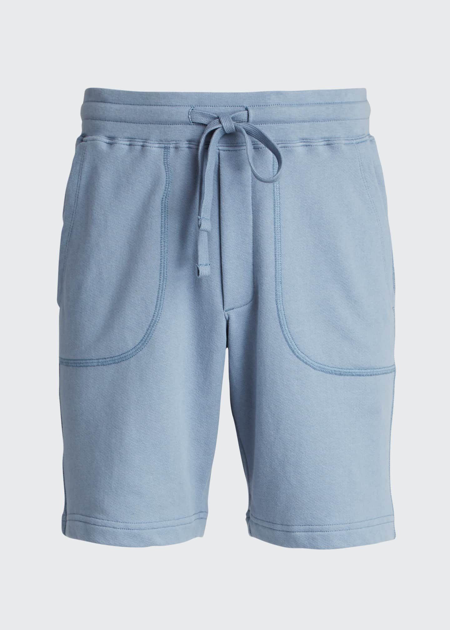 Image 5 of 5: Men's Garment-Dyed Drawstring Shorts