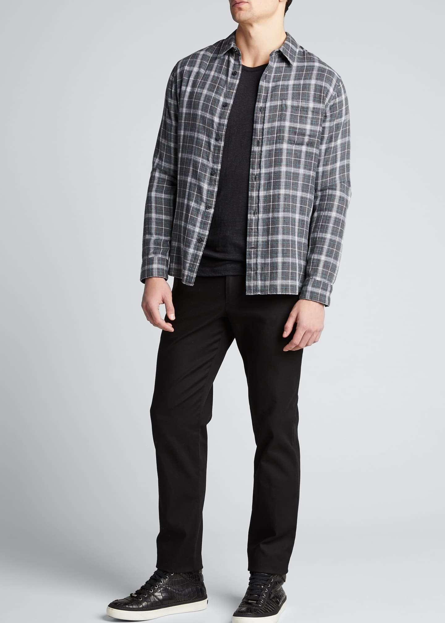 Image 1 of 4: Men's Dylan 5-Pocket Straight-Leg Pants