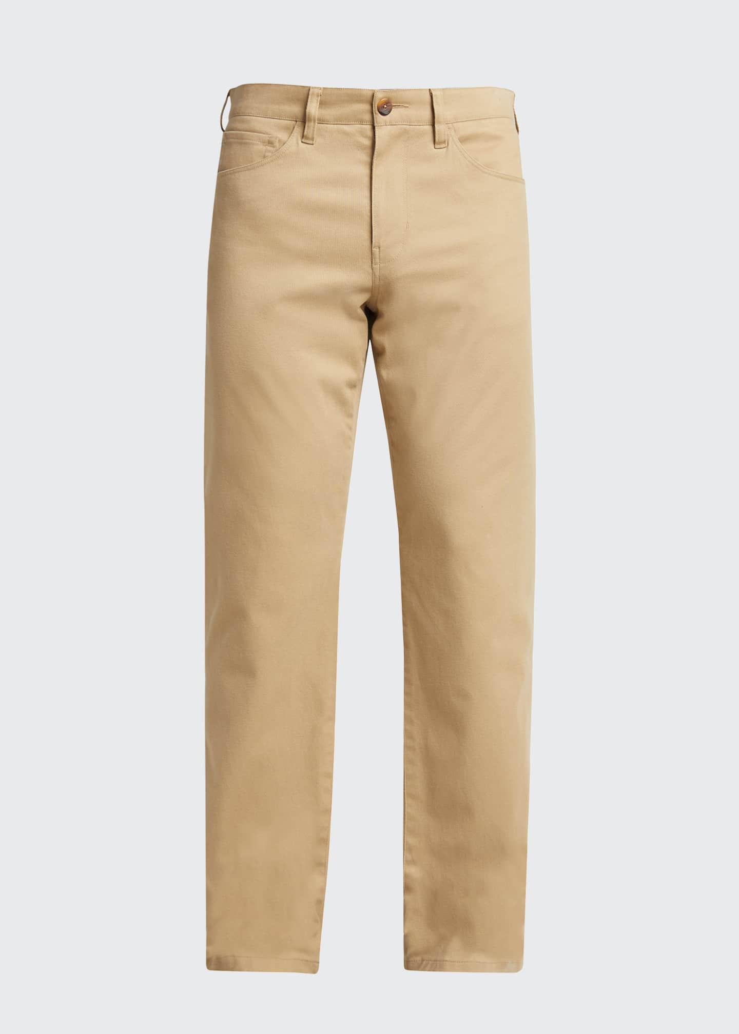 Image 4 of 4: Men's Dylan 5-Pocket Straight-Leg Pants