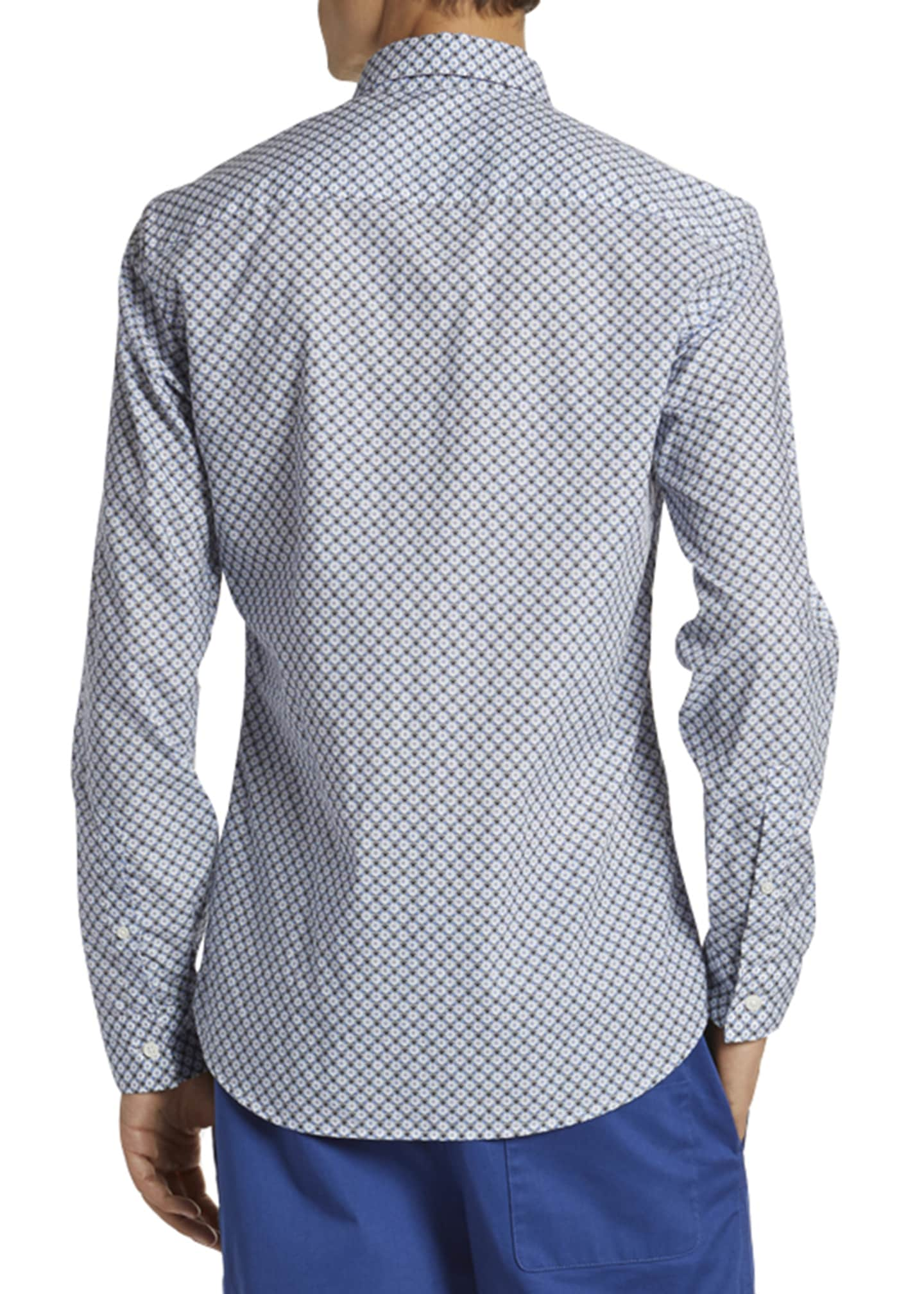 Image 2 of 2: Men's Urban Slim-Fit Sport Shirt