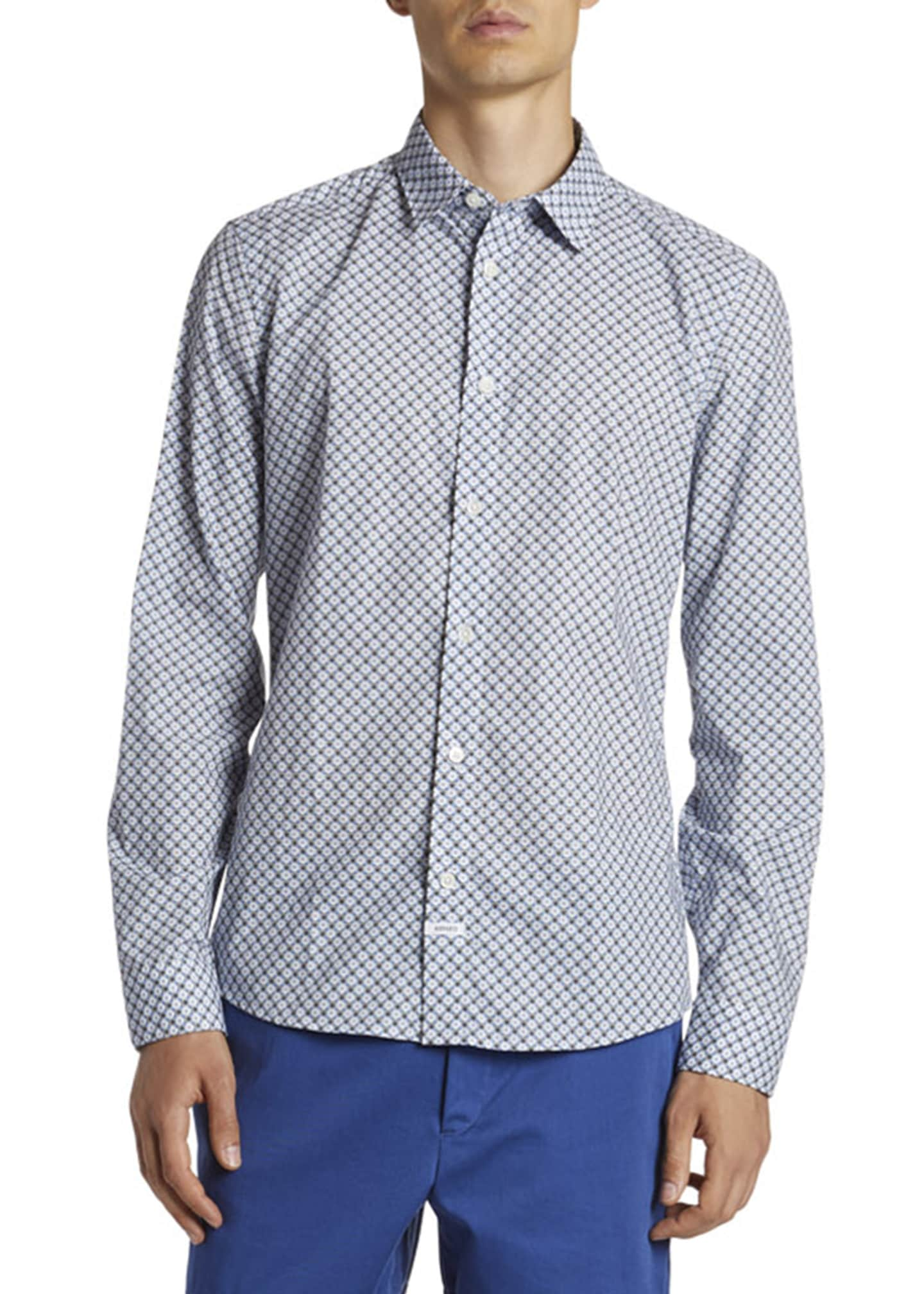 Image 1 of 2: Men's Urban Slim-Fit Sport Shirt