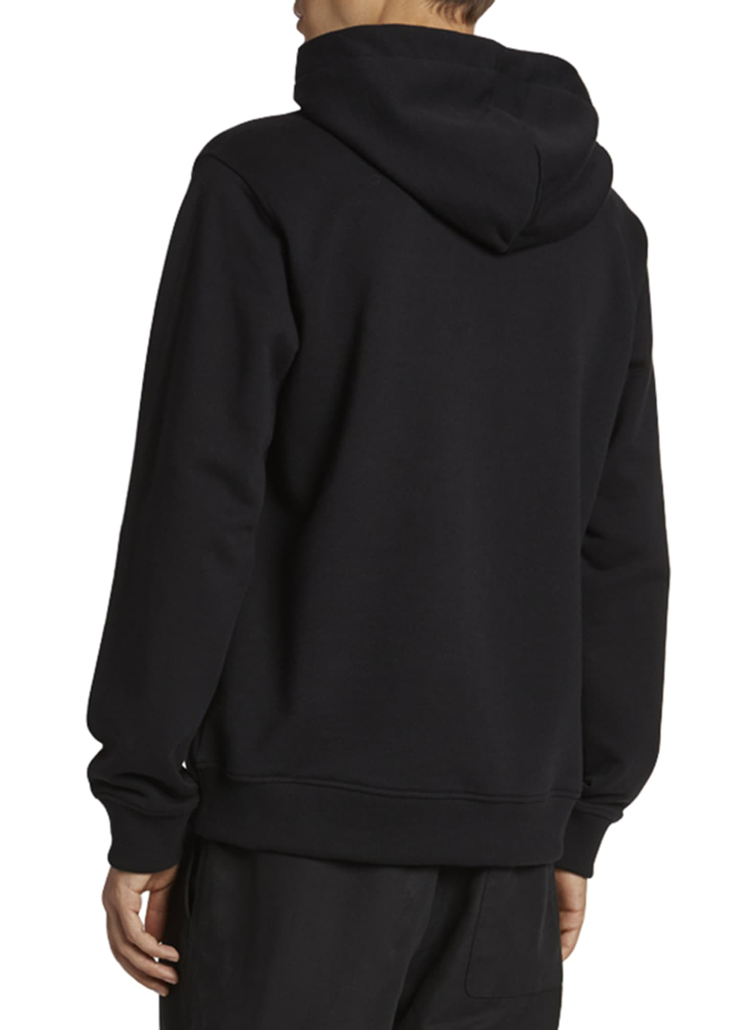 Image 2 of 2: Men's Mesh Eye Graphic Pullover Hoodie