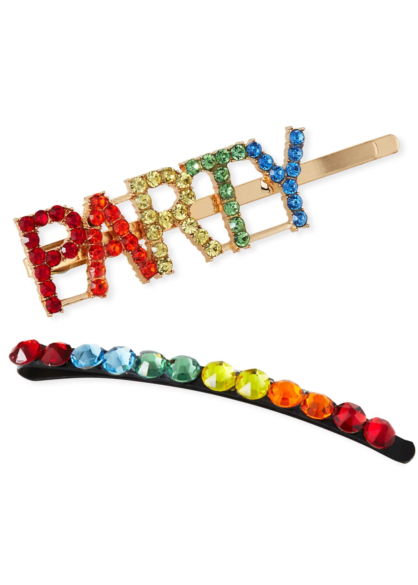 Bari Lynn Girl's Party Word Crystal Bobby Pin