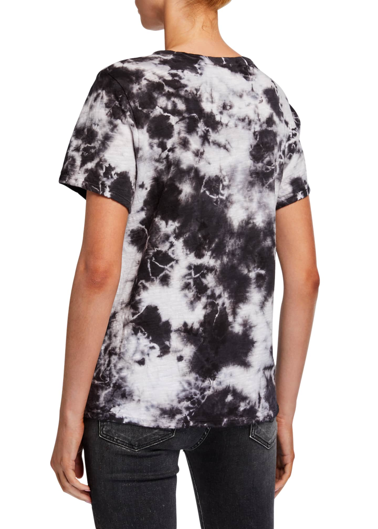 Image 2 of 2: Under The Stars Tie-Dye Graphic Tee