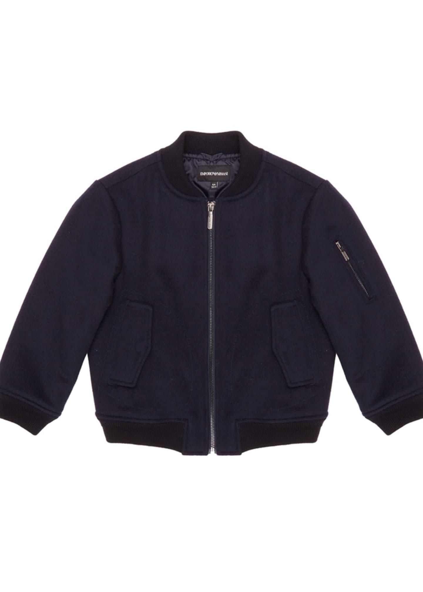 Emporio Armani Boy's Bomber Jacket, Size 6-16