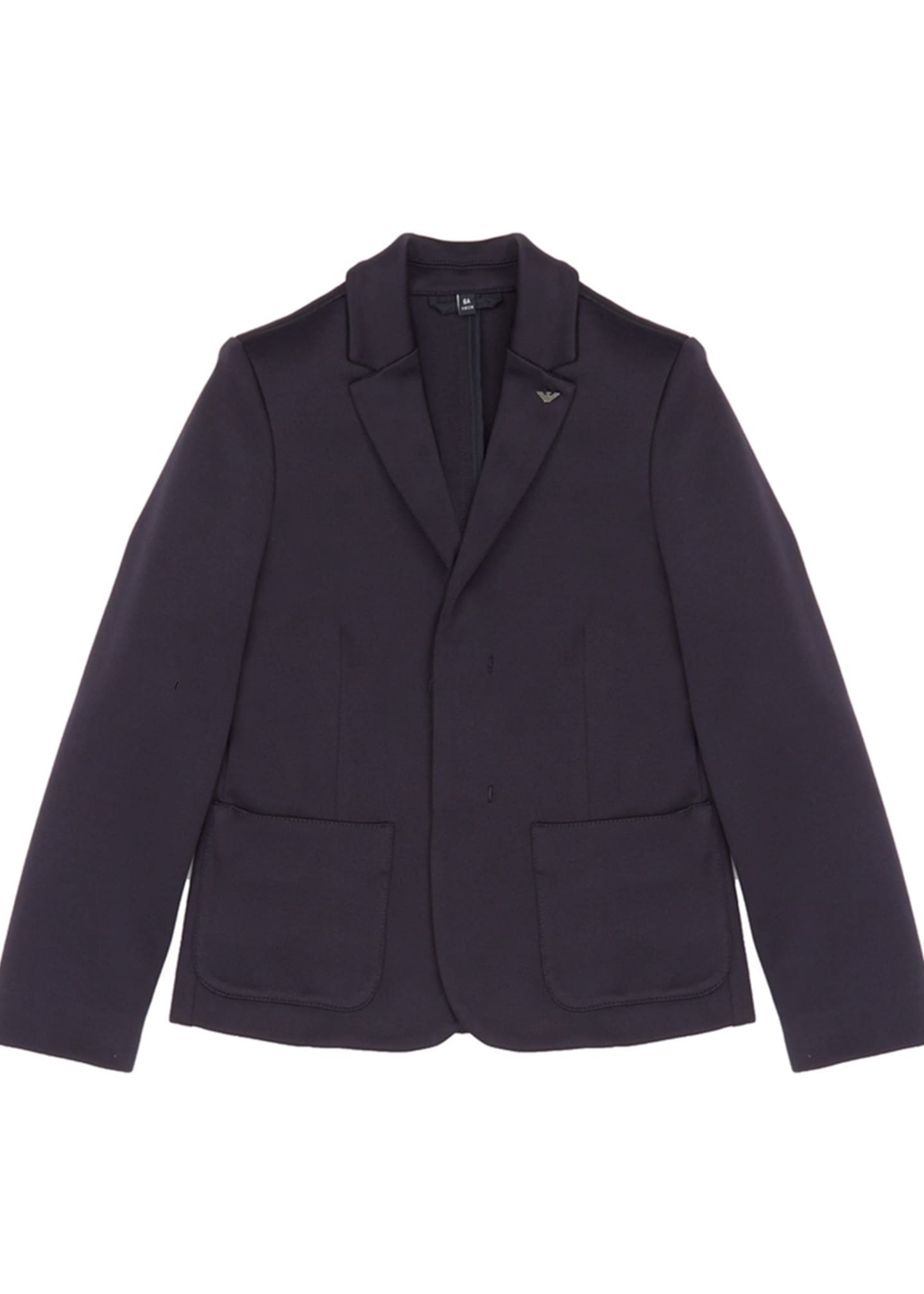 Emporio Armani Boy's Stretch Blazer Jacket, Size 4-16