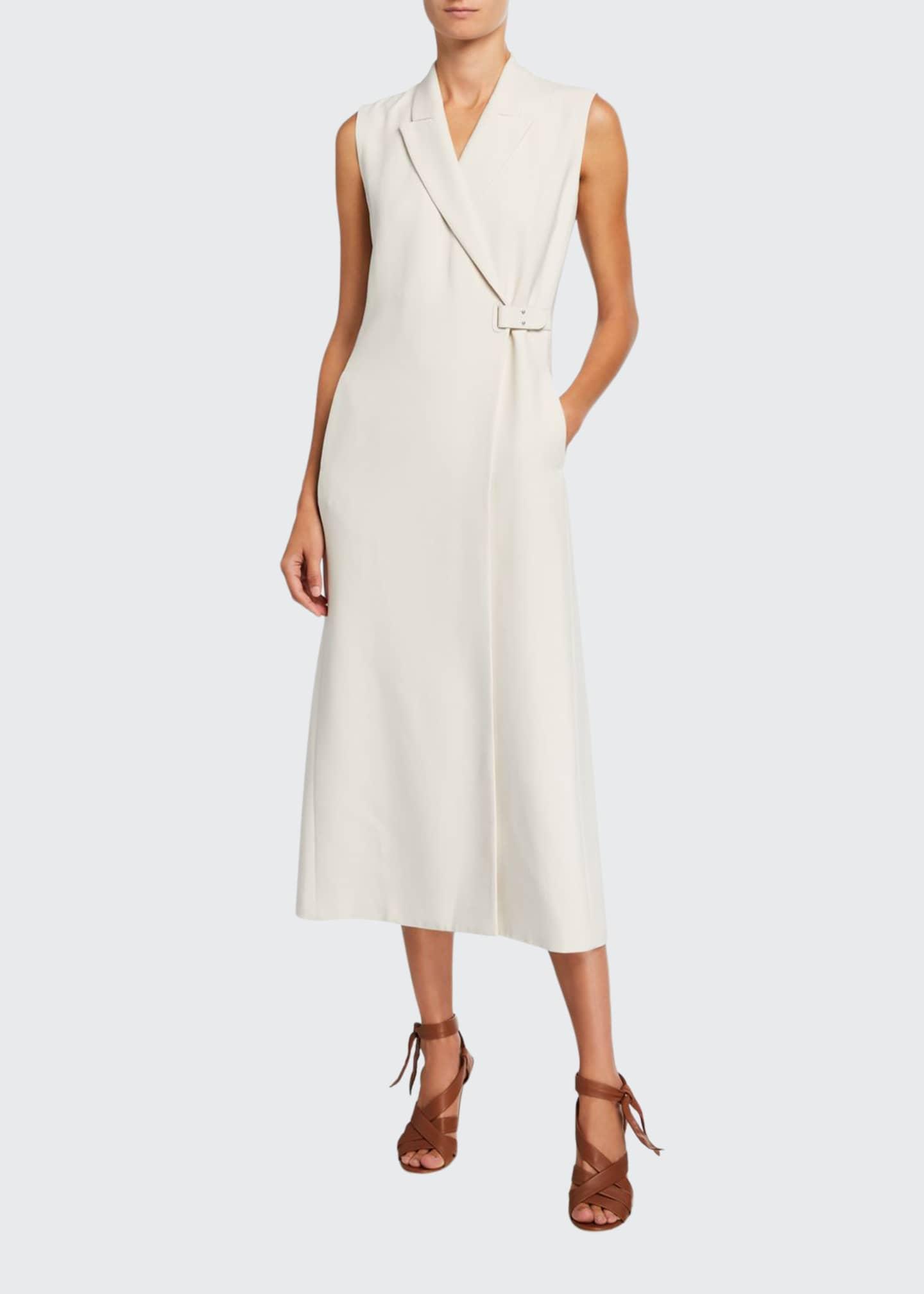 Loro Piana Tab-Waist Vest Dress