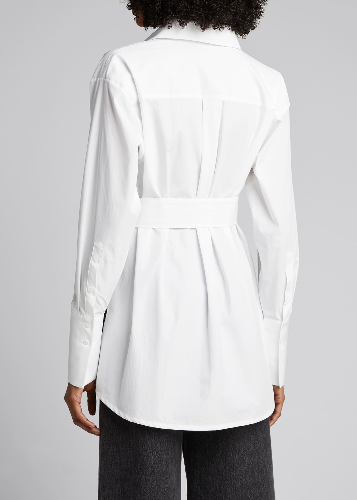 Image 2 of 5: Casablanca Belted Shirt