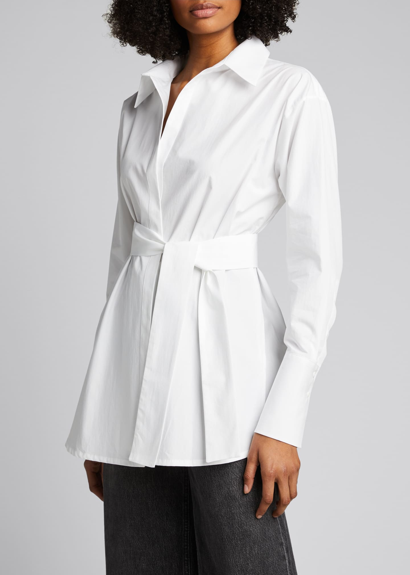 Image 3 of 5: Casablanca Belted Shirt