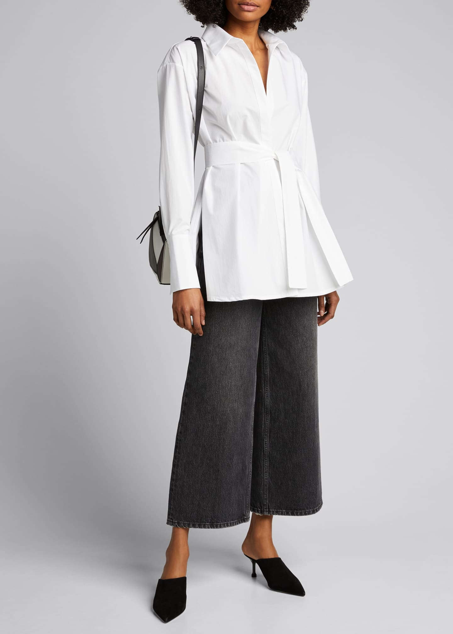 Image 1 of 5: Casablanca Belted Shirt
