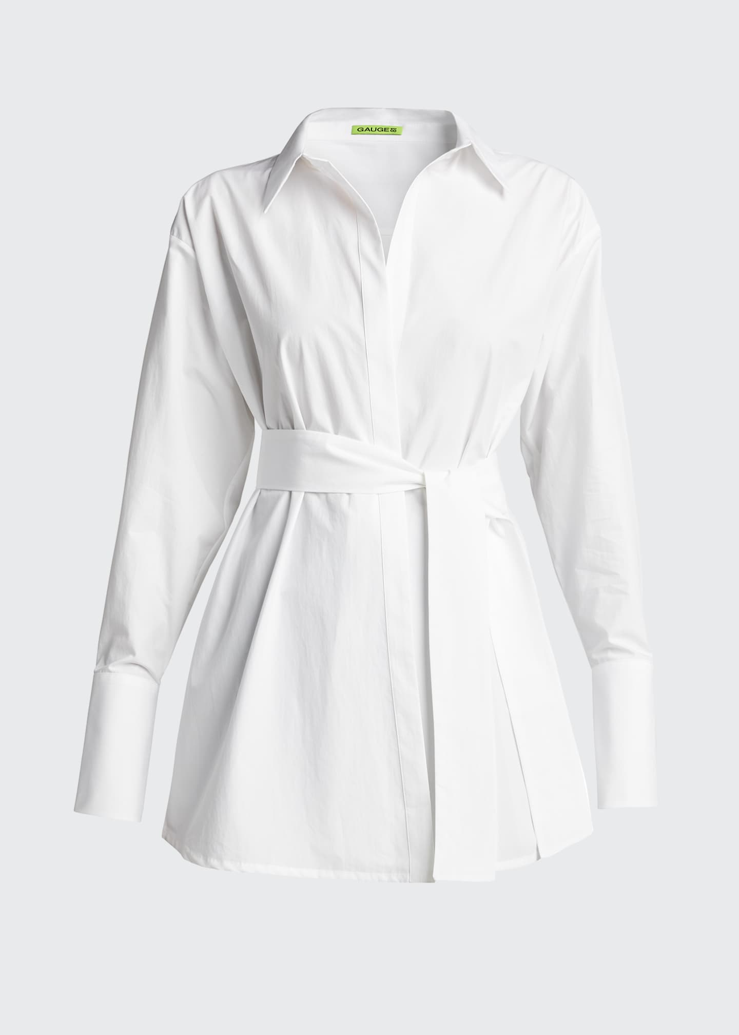 Image 5 of 5: Casablanca Belted Shirt