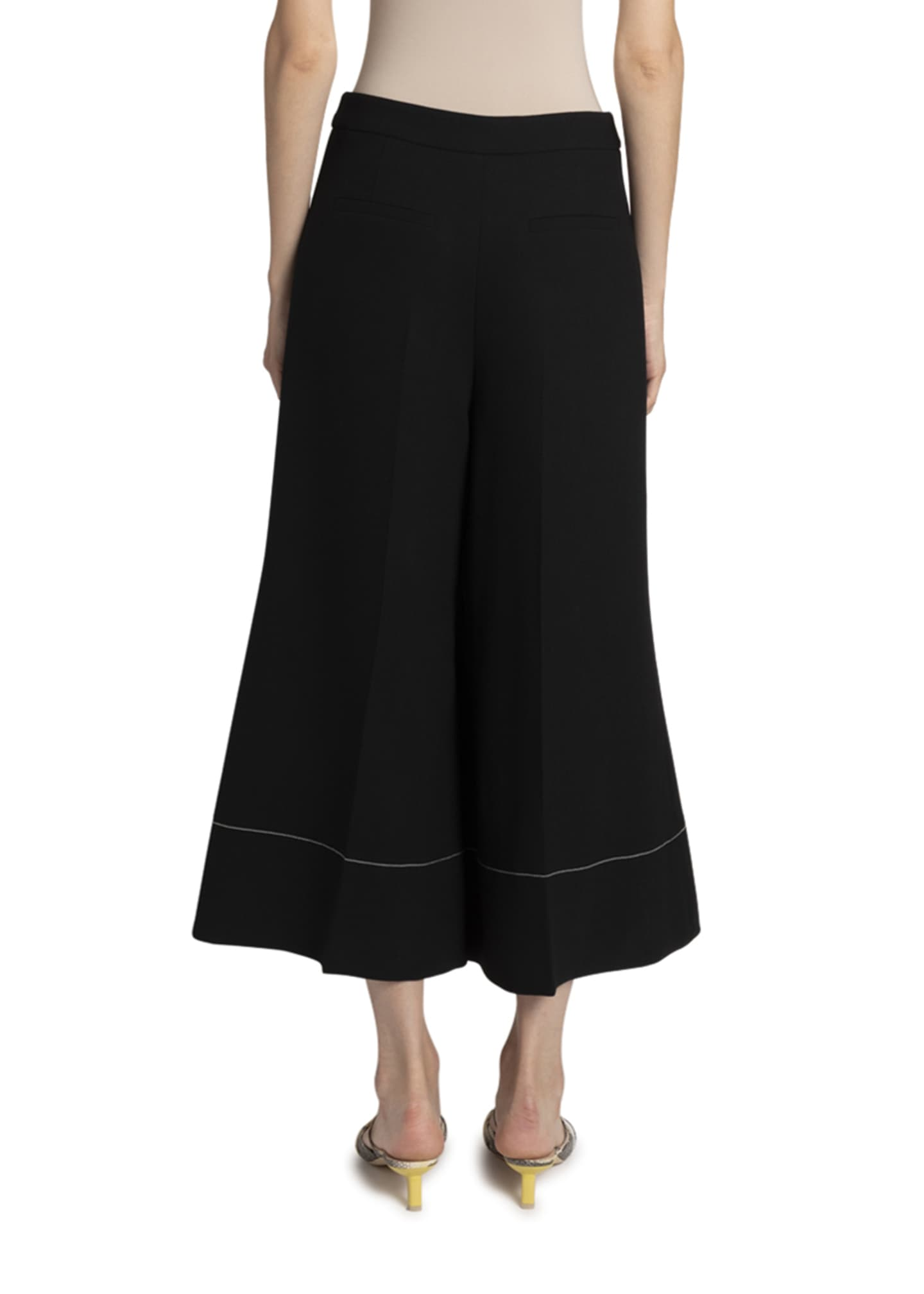 Image 2 of 2: Dora Cropped Flare Trousers
