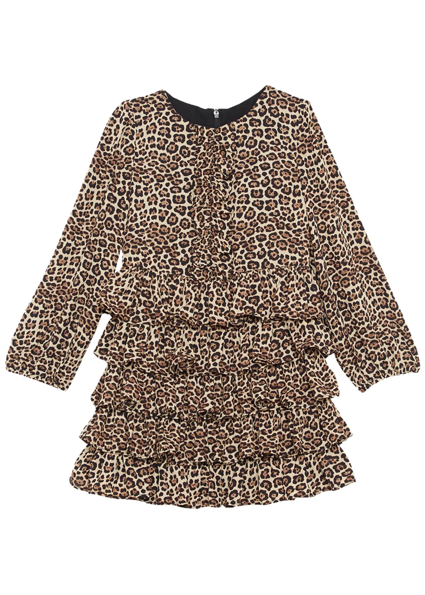 Bardot Junior Girl's Tia Animal-Print Dress, Size 7-18