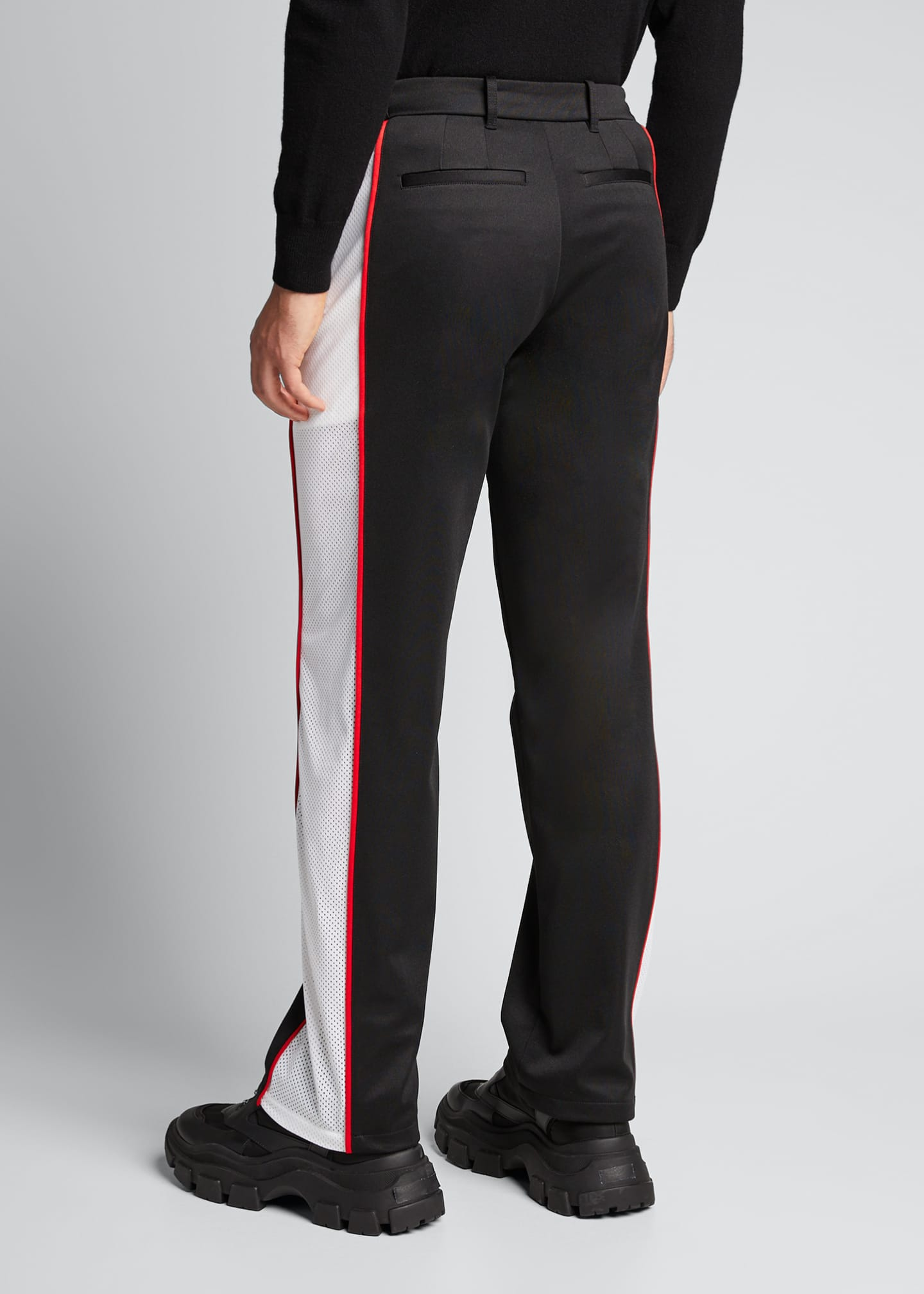 Image 2 of 5: Men's Side-Stripe Track Pants