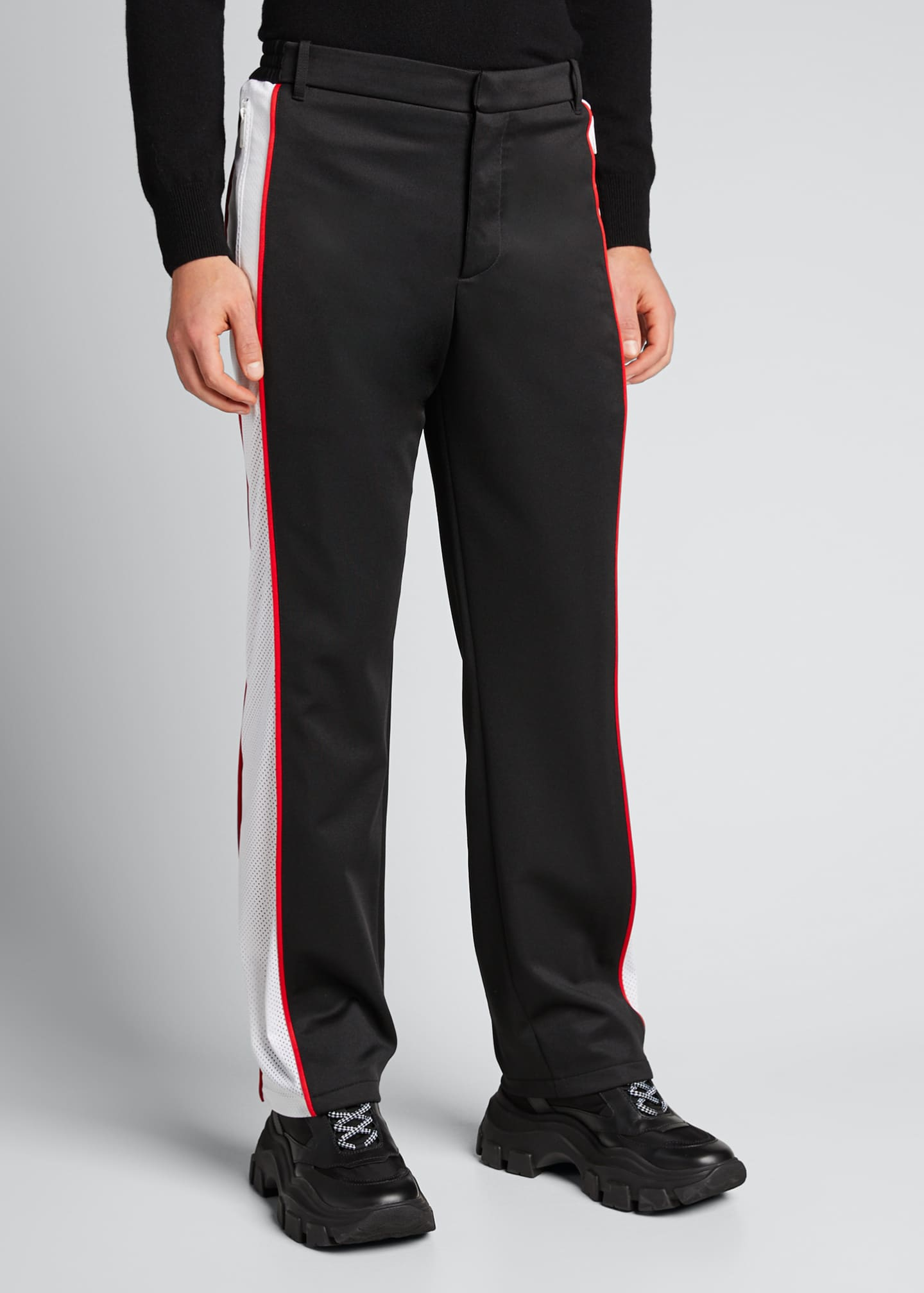 Image 3 of 5: Men's Side-Stripe Track Pants