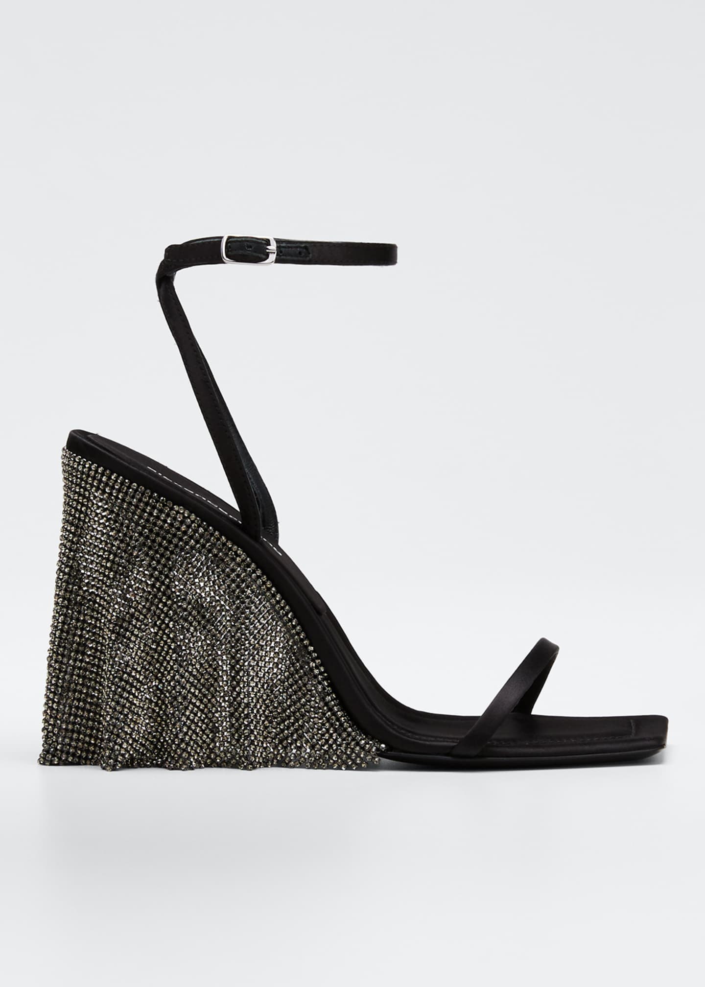 Alexander Wang Blake Crystal Wedge Sandals