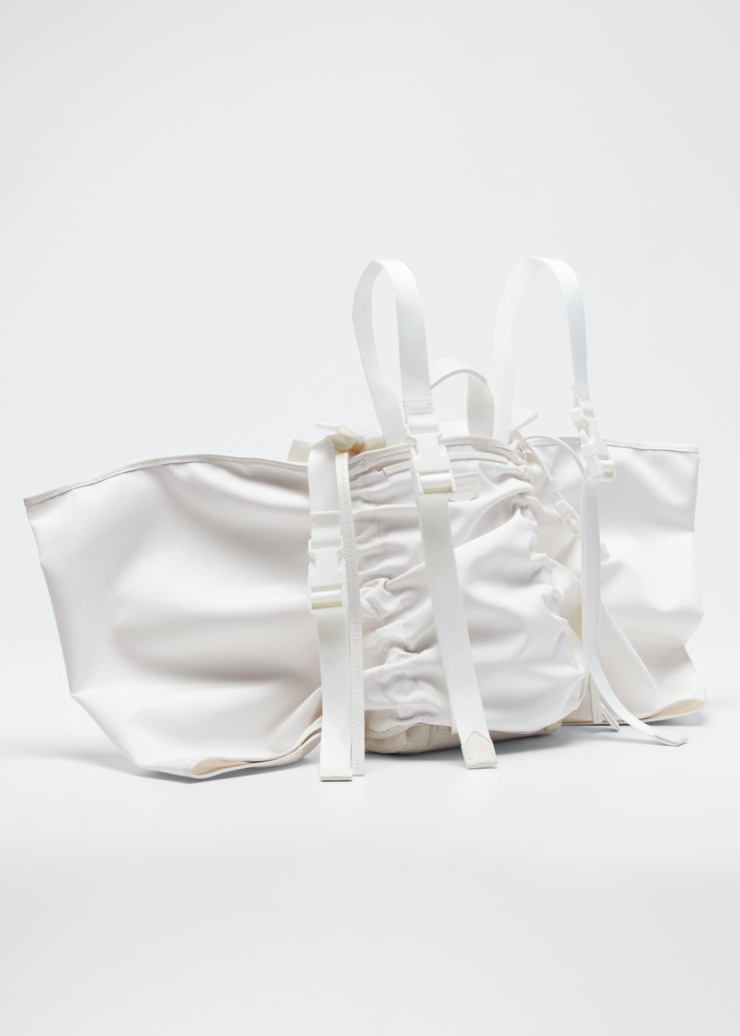 Image 3 of 5: Mini Fabric Backpack with Wings