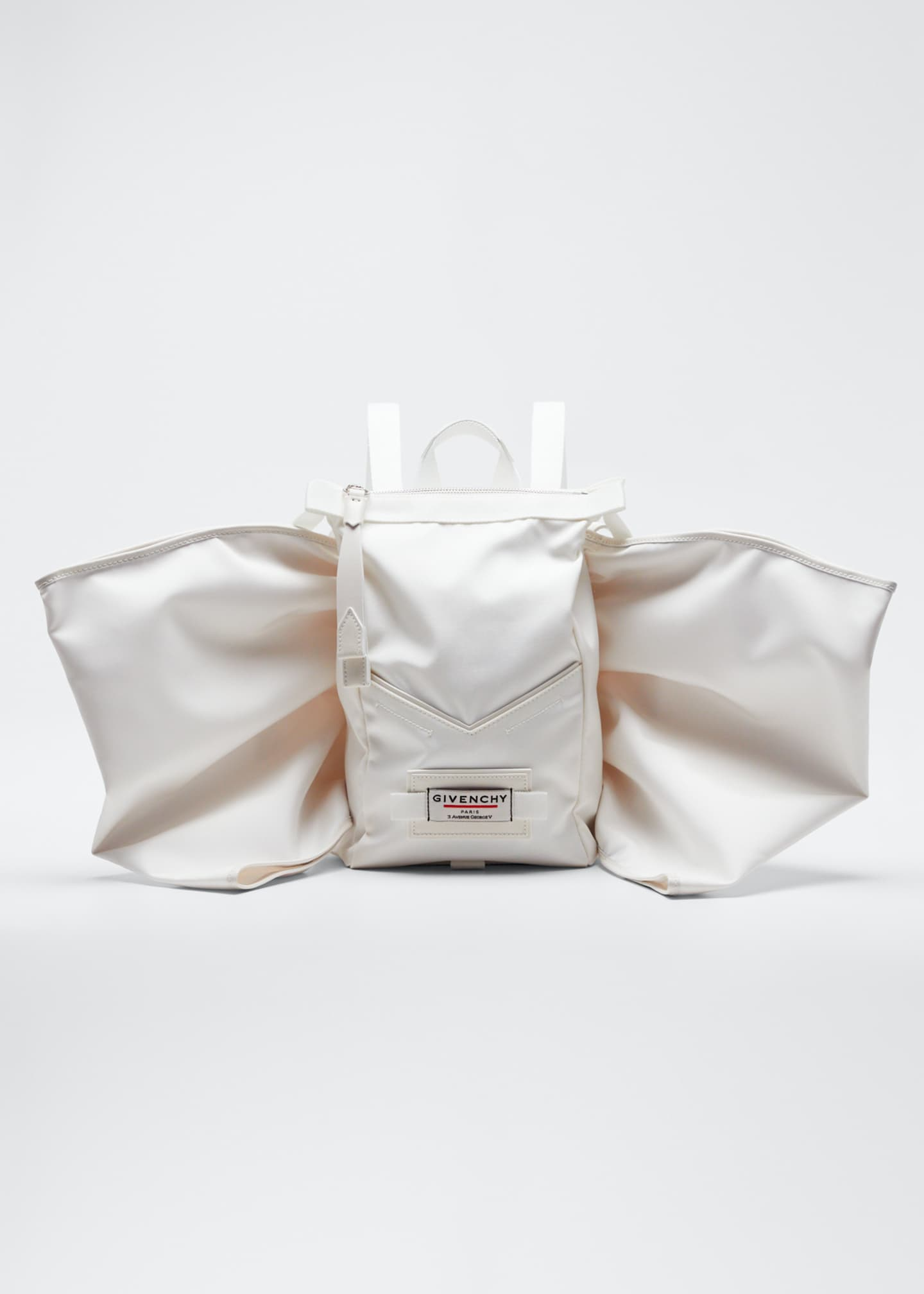 Image 1 of 5: Mini Fabric Backpack with Wings