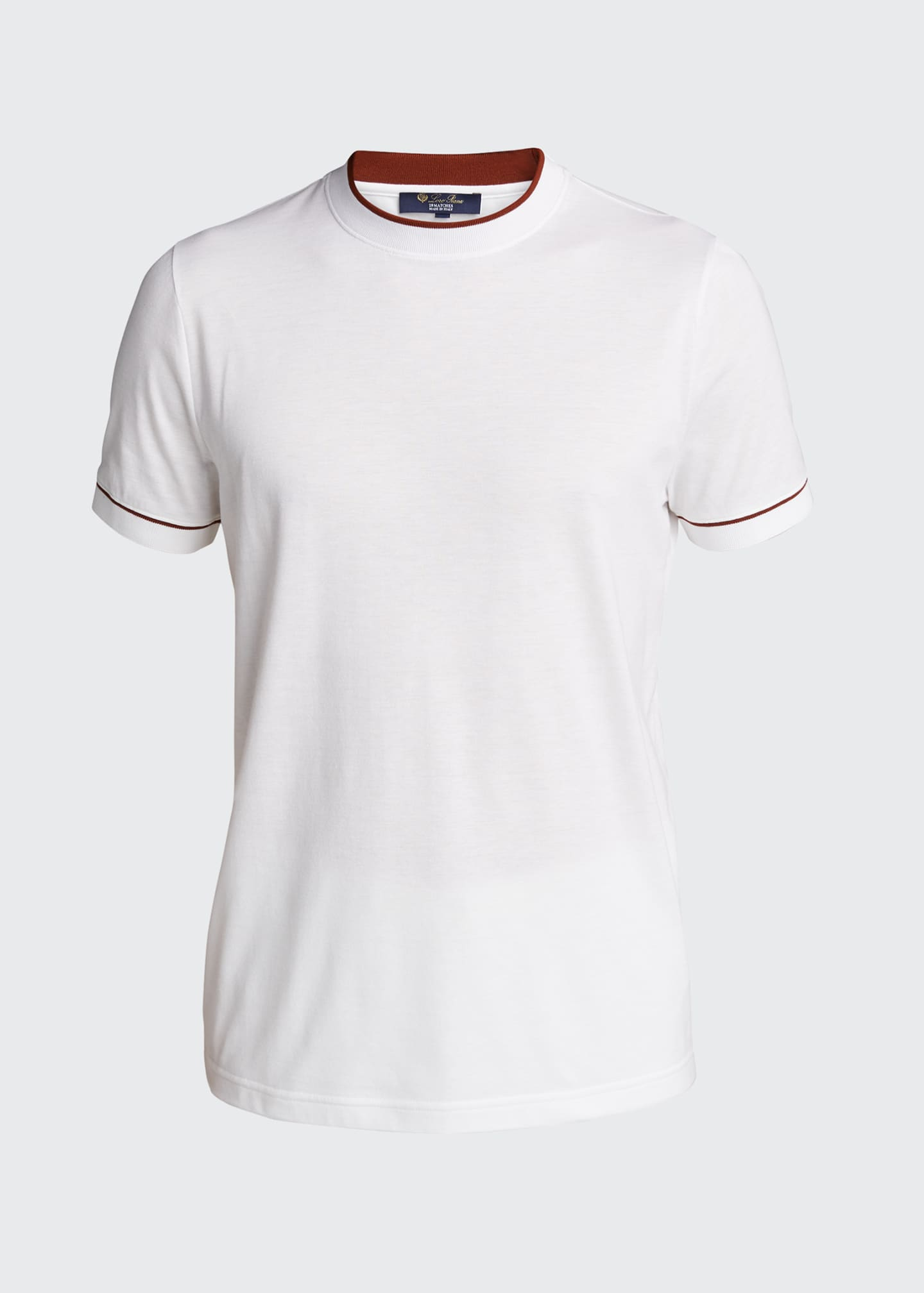 Image 5 of 5: Men's Crewneck Short-Sleeve Golf T-Shirt