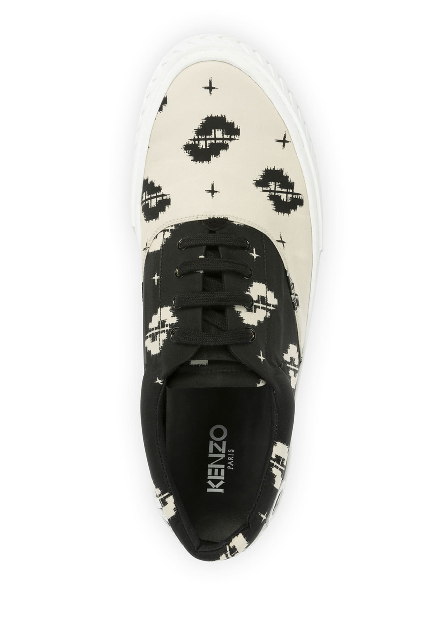 Image 2 of 4: Men's K-Skate Two-Tone Patterned Sneakers