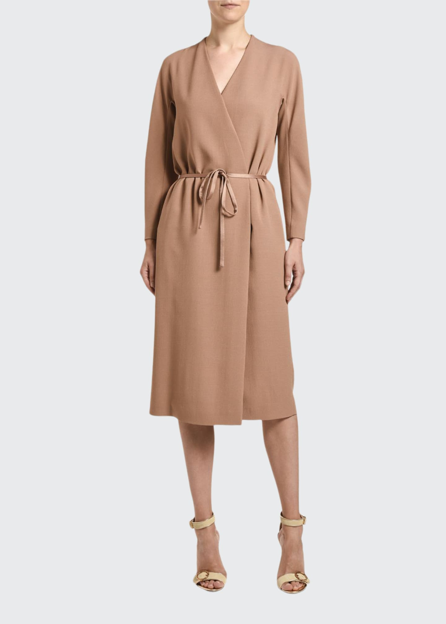 Agnona Cady Wrap Dress