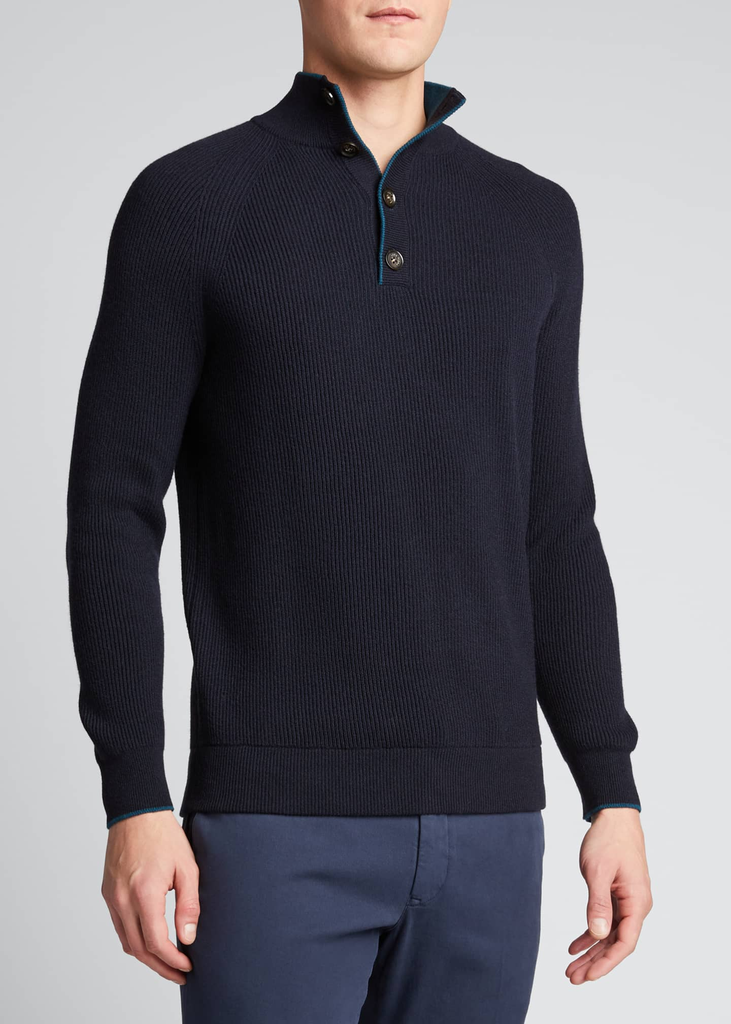 Image 3 of 5: Men's Riverside Mezzocolo Cashmere Sweater