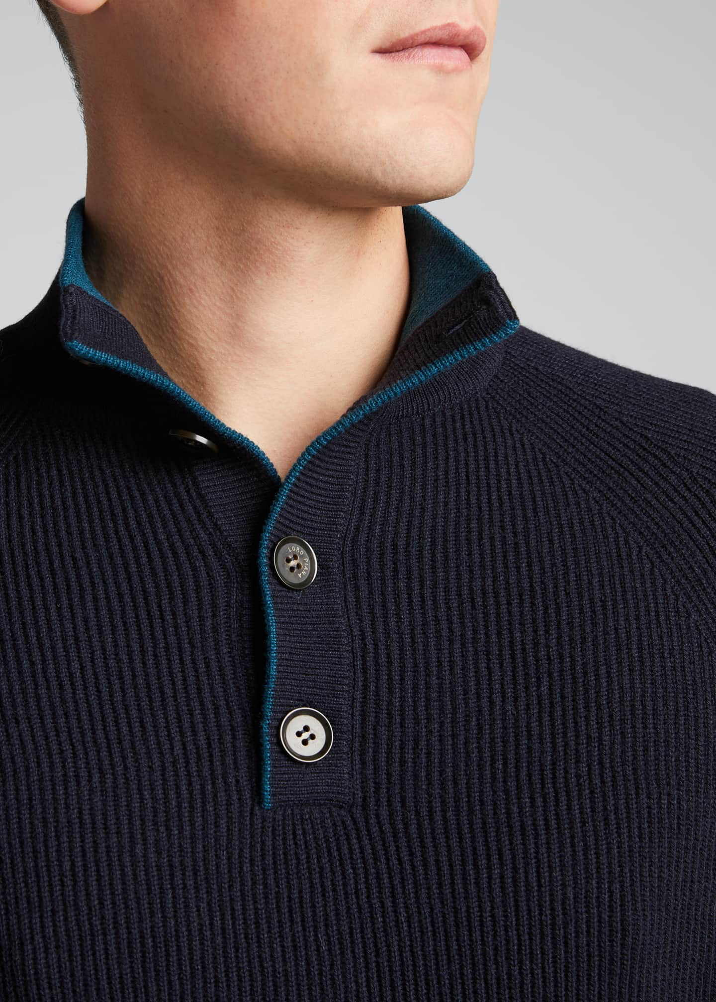 Image 4 of 5: Men's Riverside Mezzocolo Cashmere Sweater