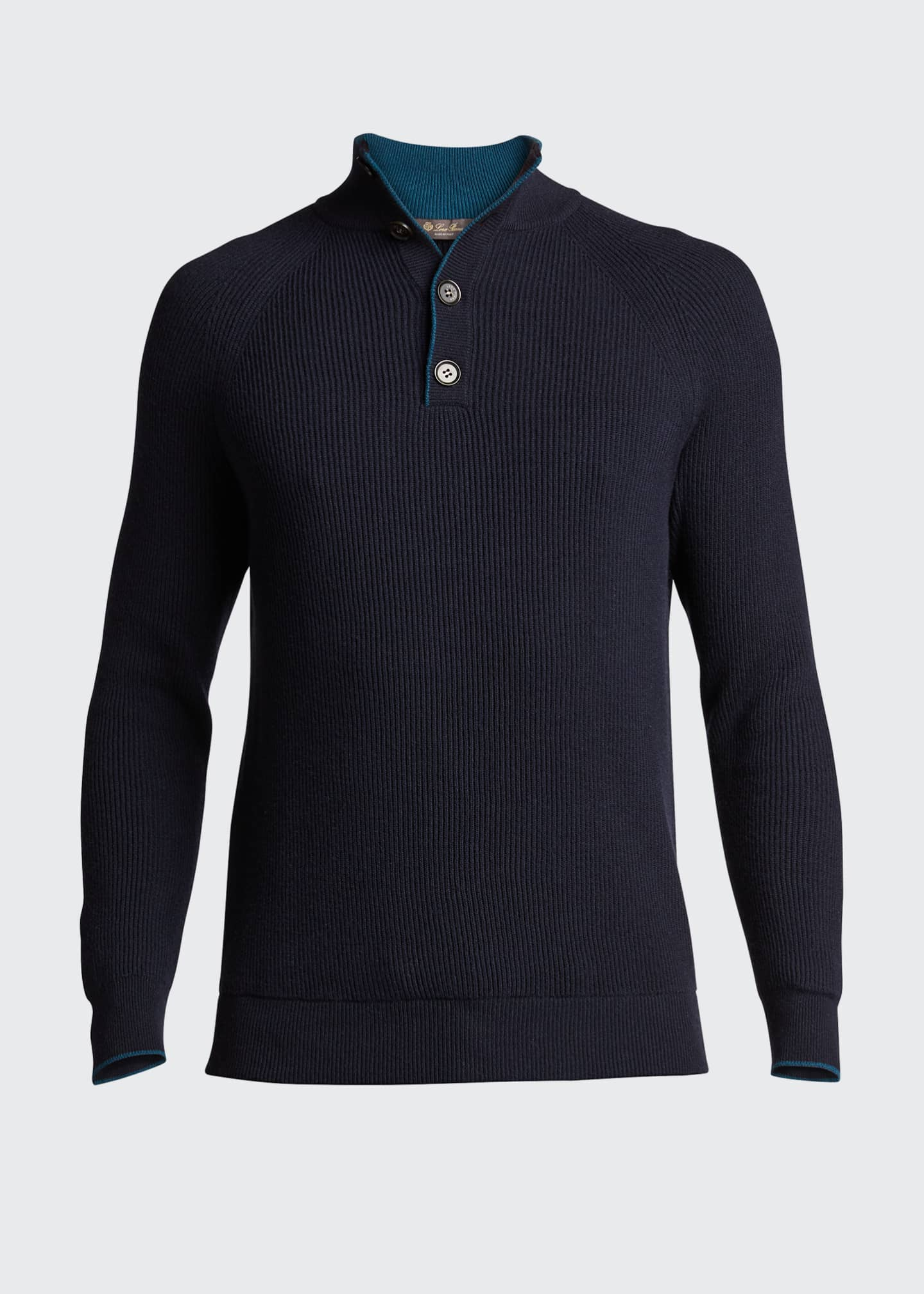 Image 5 of 5: Men's Riverside Mezzocolo Cashmere Sweater