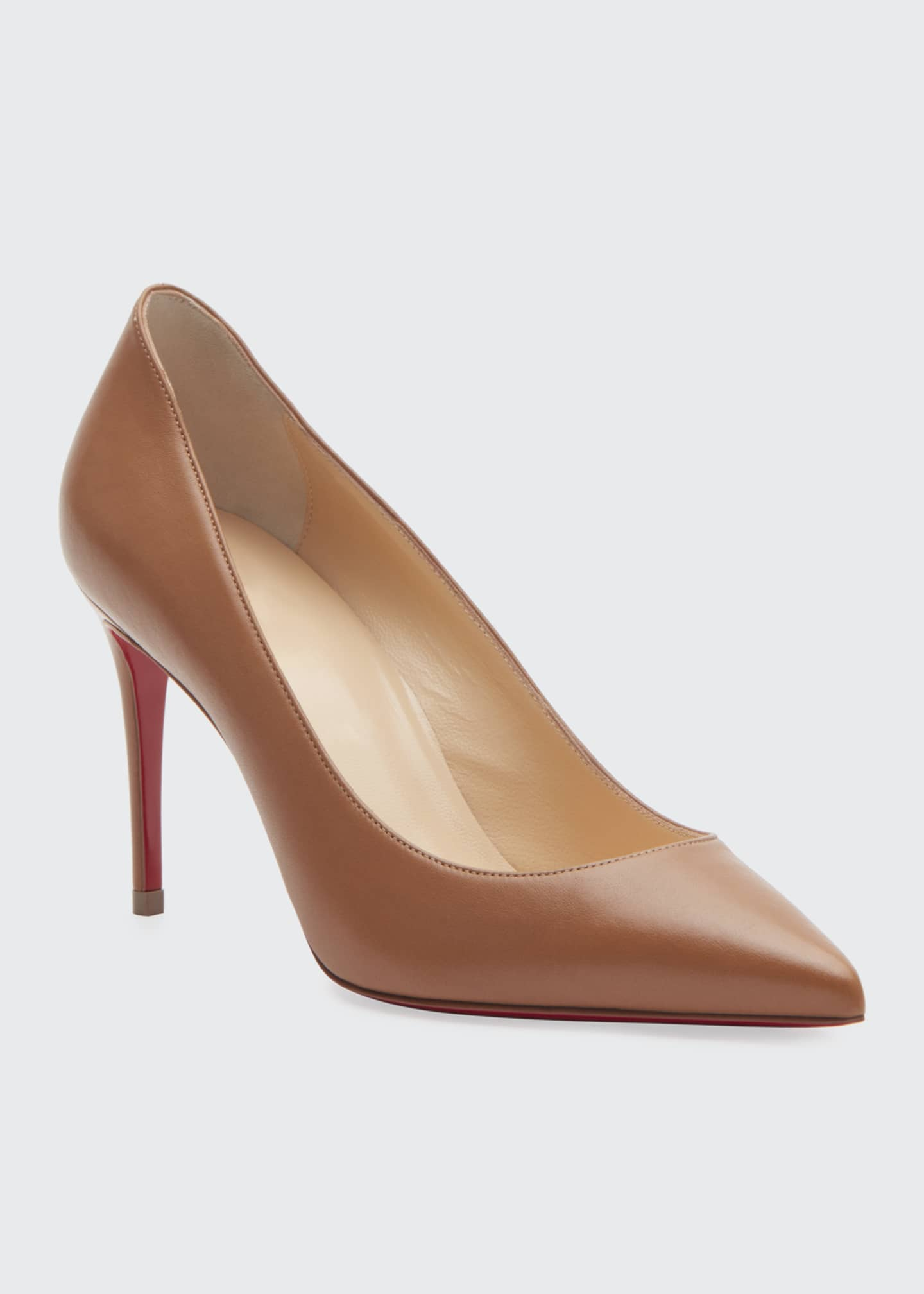 Image 2 of 3: Kate 85mm Red Sole Pumps